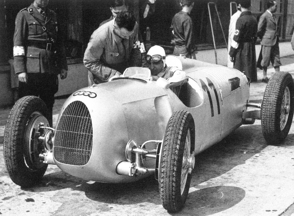 1934 Auto union type HD Wallpaper