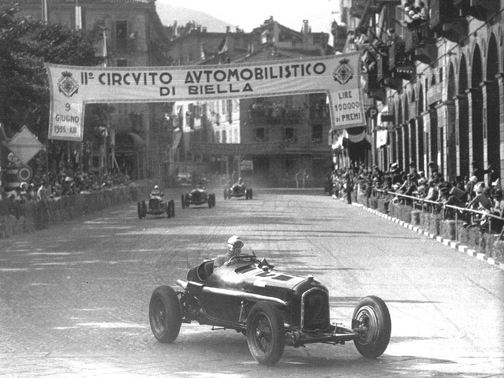 1935 circuito di biella HD Wallpaper
