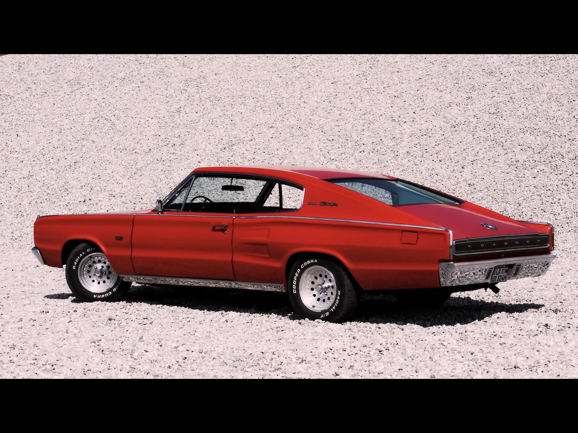 1967 Dodge Charger of HD Wallpaper
