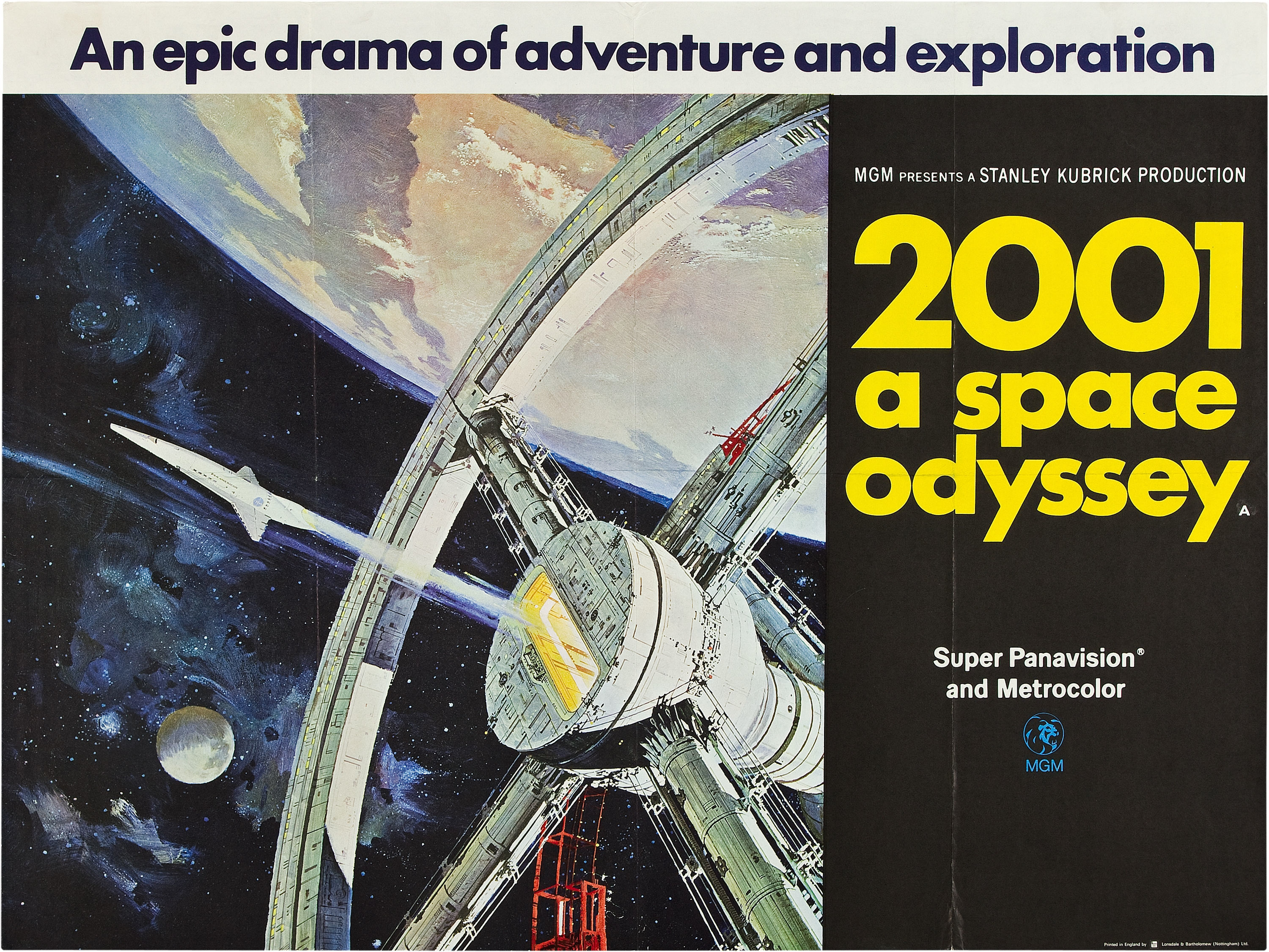 2001: A Space Odyssey HD Wallpaper