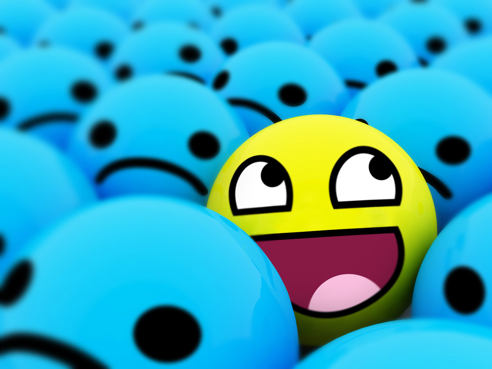 Awesome Smiley Face Wallpaper I1 Awesome Smiley Face