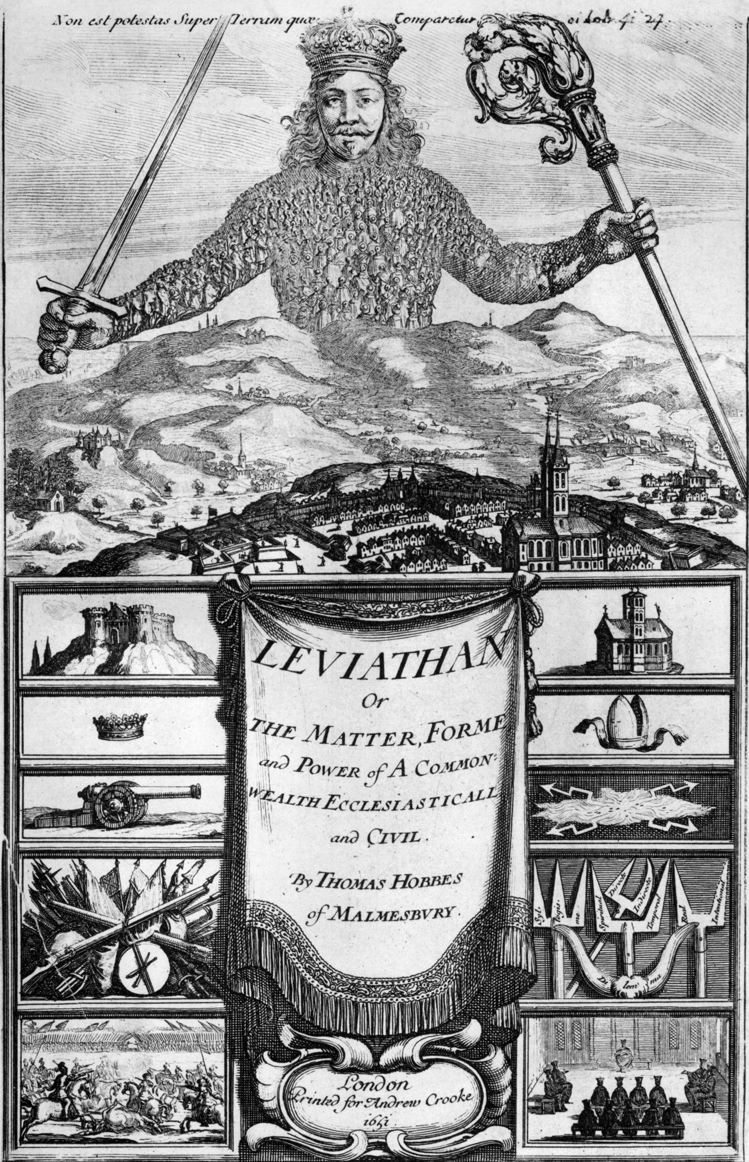 an analysis of the compromise between hobbes leviathan and lockes second treatise of government Compare and contrast john locke and thomas despotical power in second treatise of government and leviathan an analysis of the leviathan by thomas hobbes.
