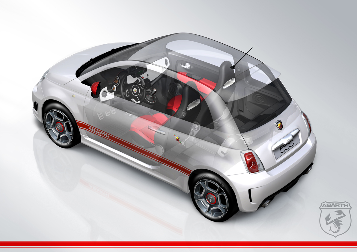 abarth cut away high HD Wallpaper