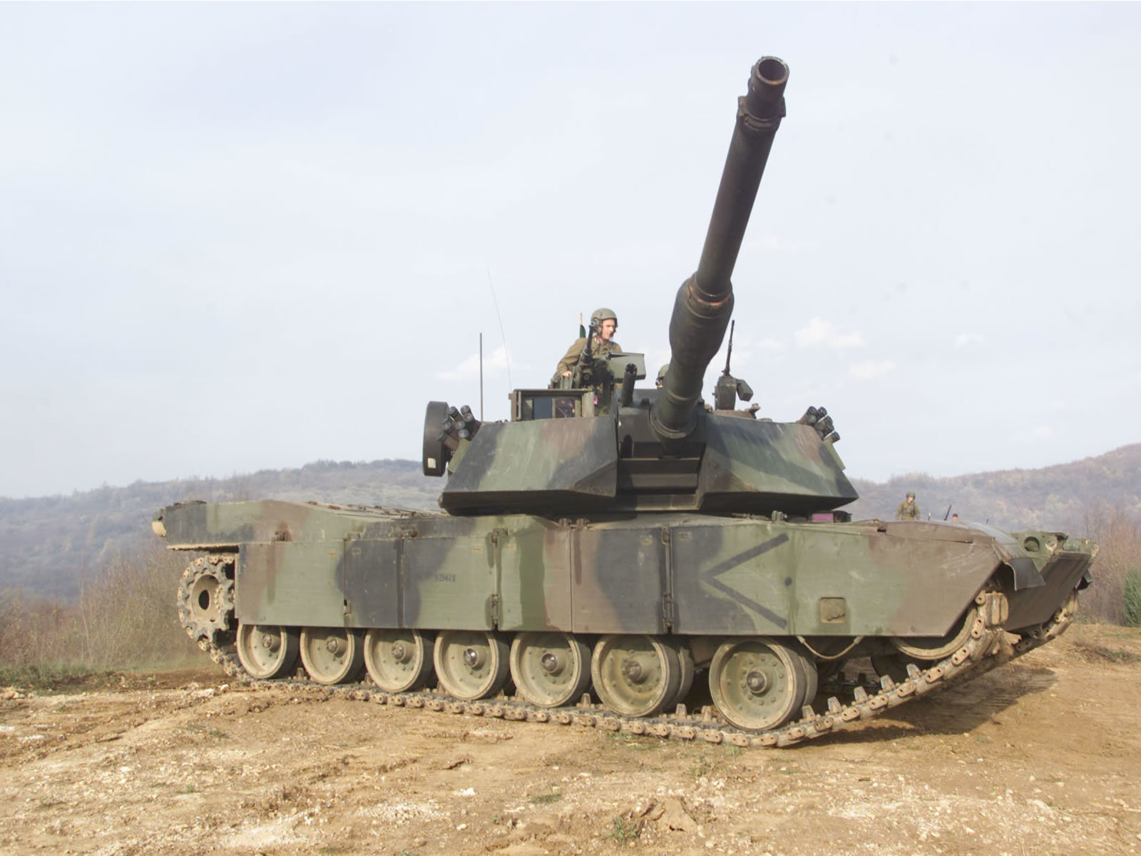 Abrams tank mc johnson