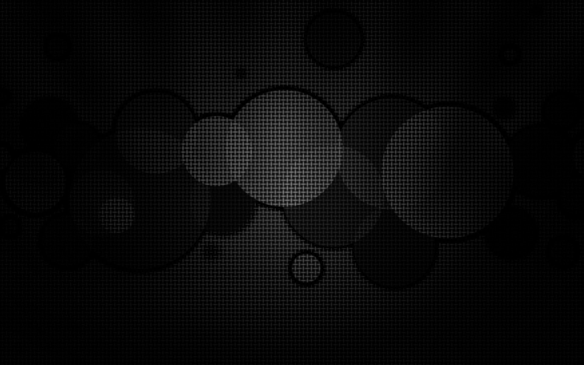 abstract black circles geometry HD Wallpaper