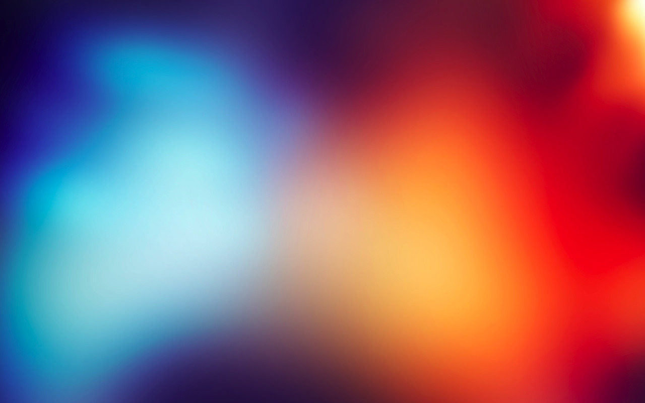 abstract blue red blurred HD Wallpaper
