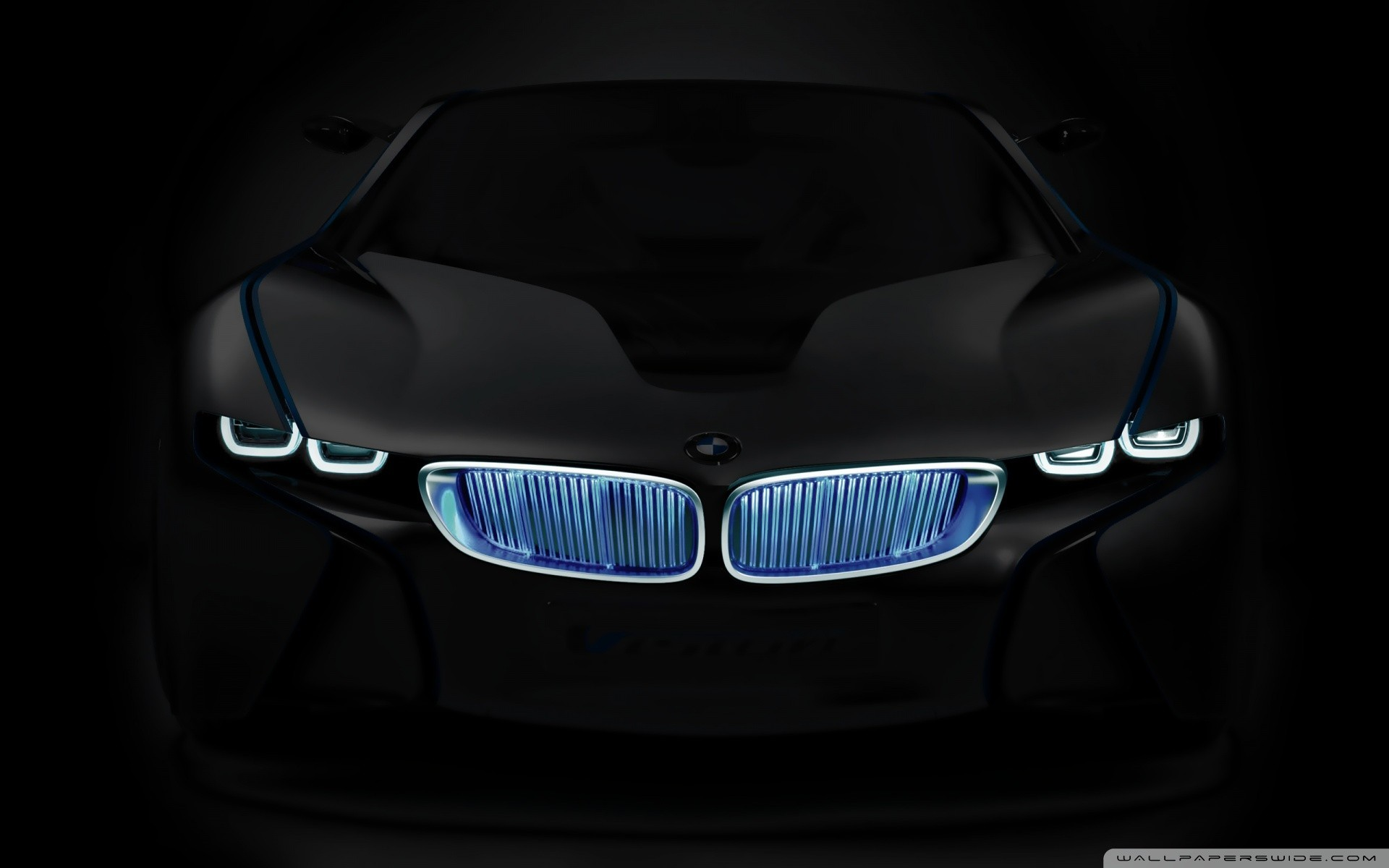abstract BMW cars ghosts