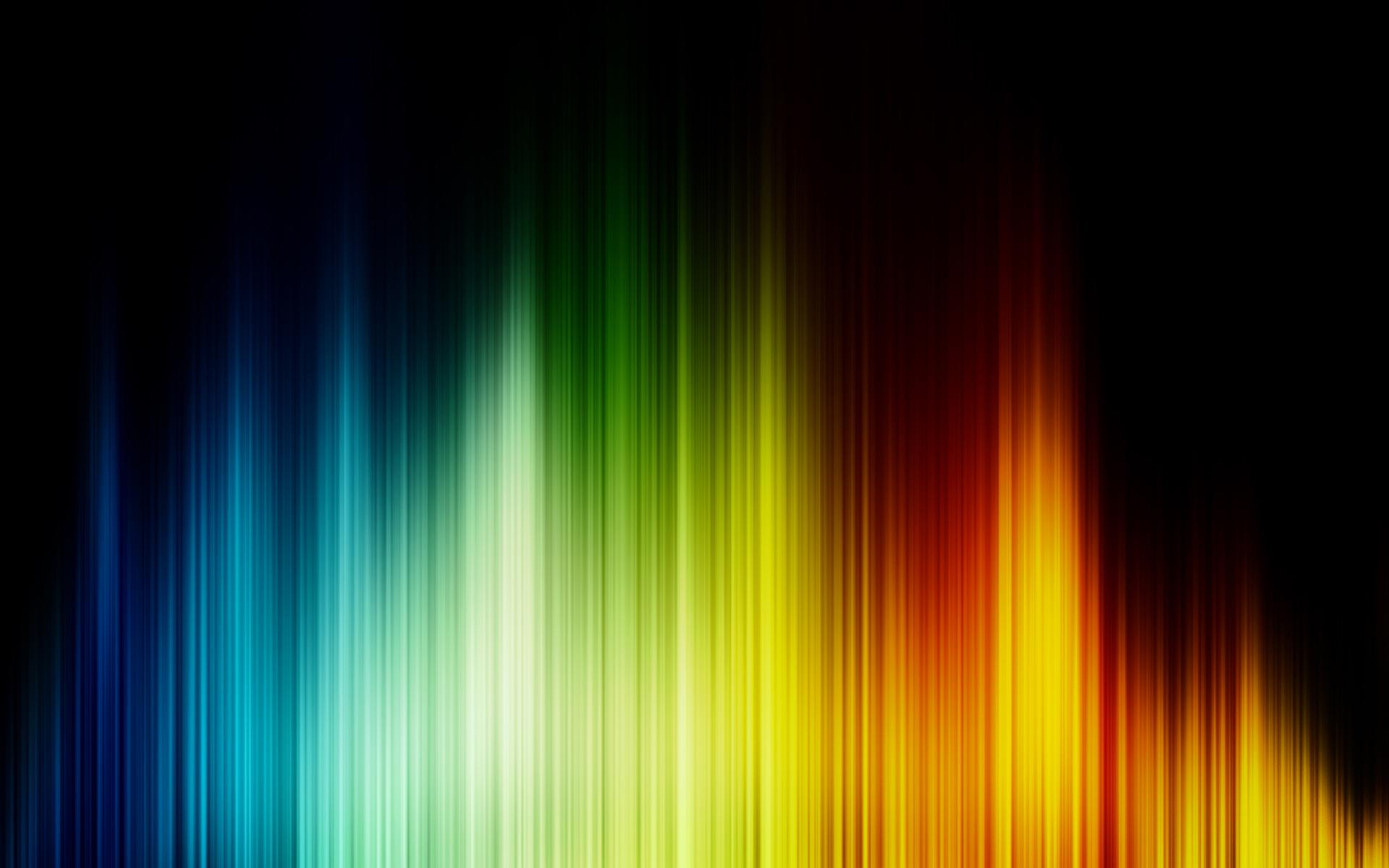abstract color spectrum