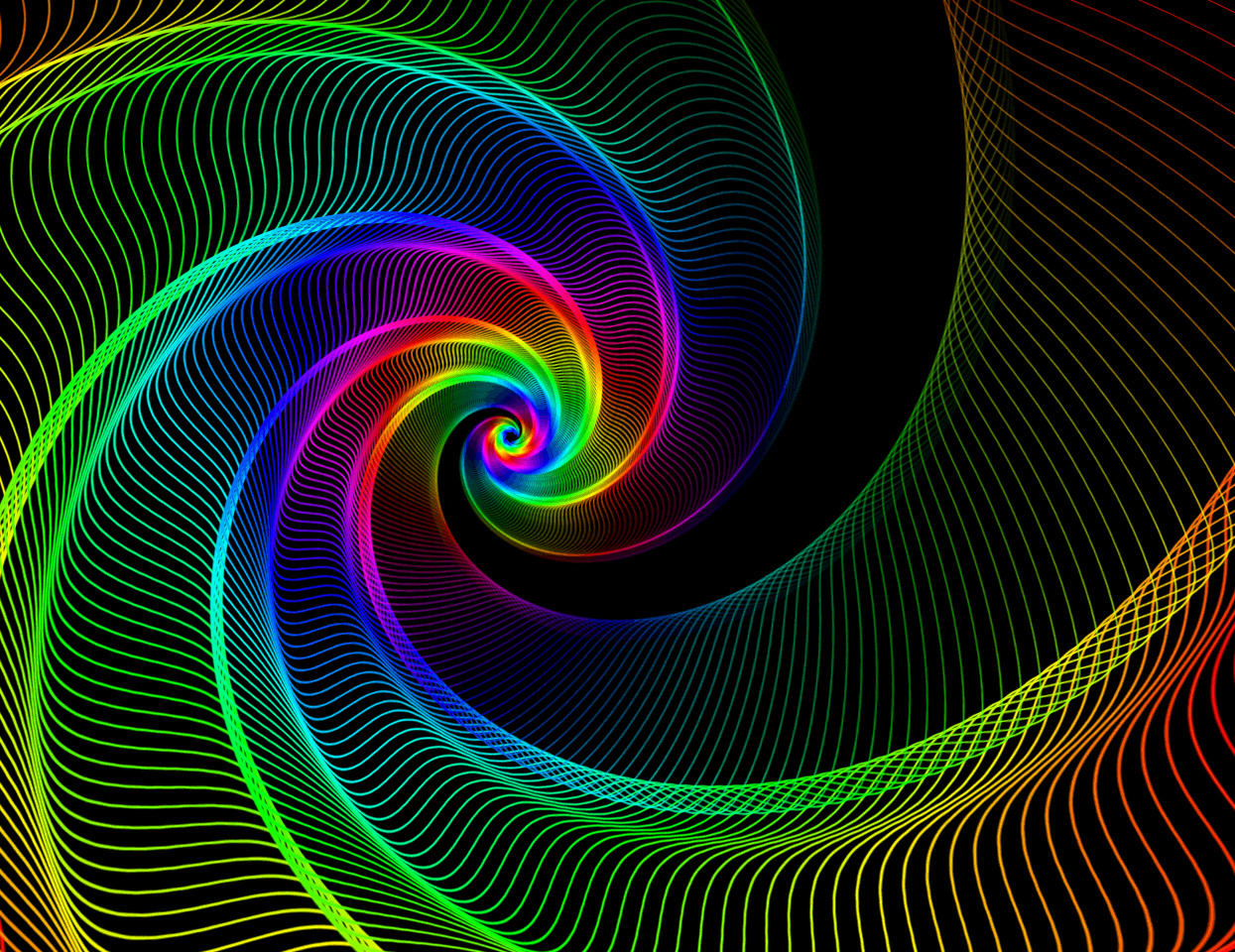 abstract colorful animation gif HD Wallpaper