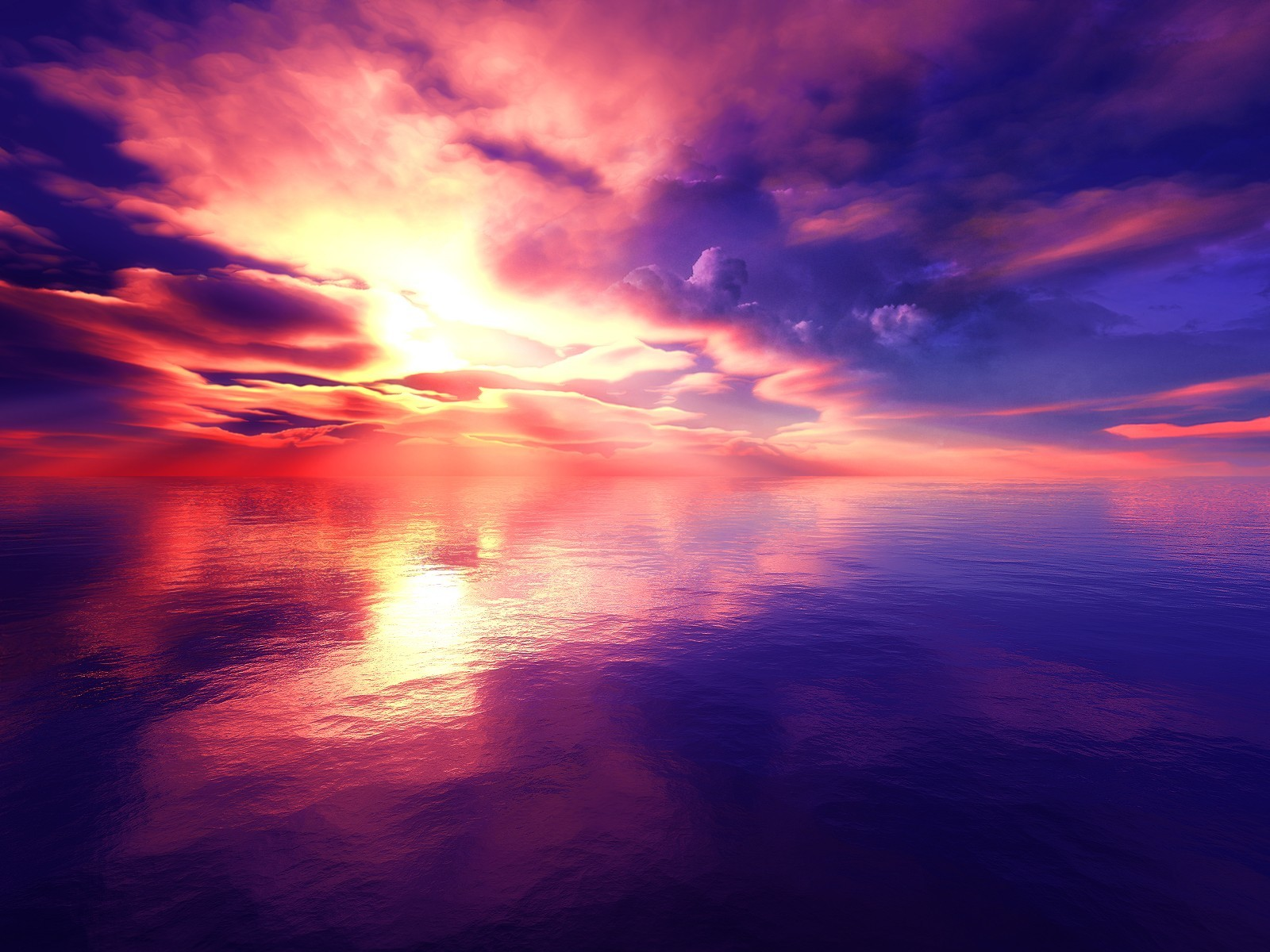 abstract dawn vivid HD Wallpaper