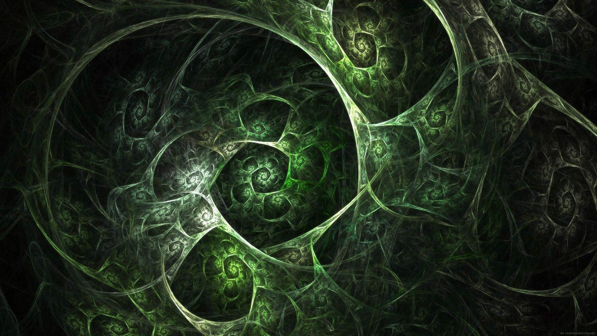 abstract Fractals apophysis spirals