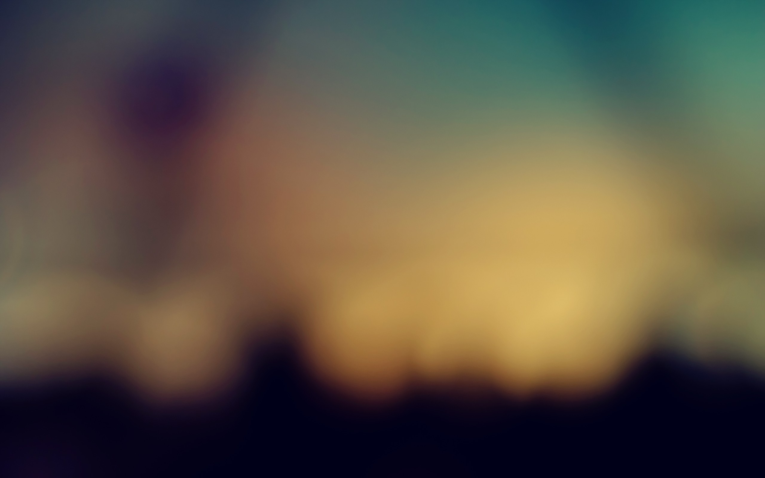 abstract gaussian blur depth HD Wallpaper