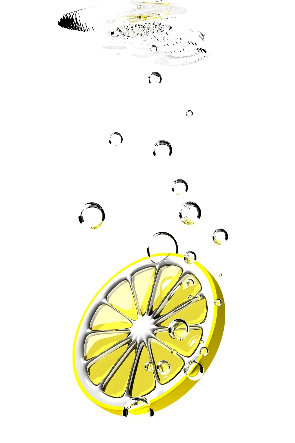 abstract lemons HD Wallpaper