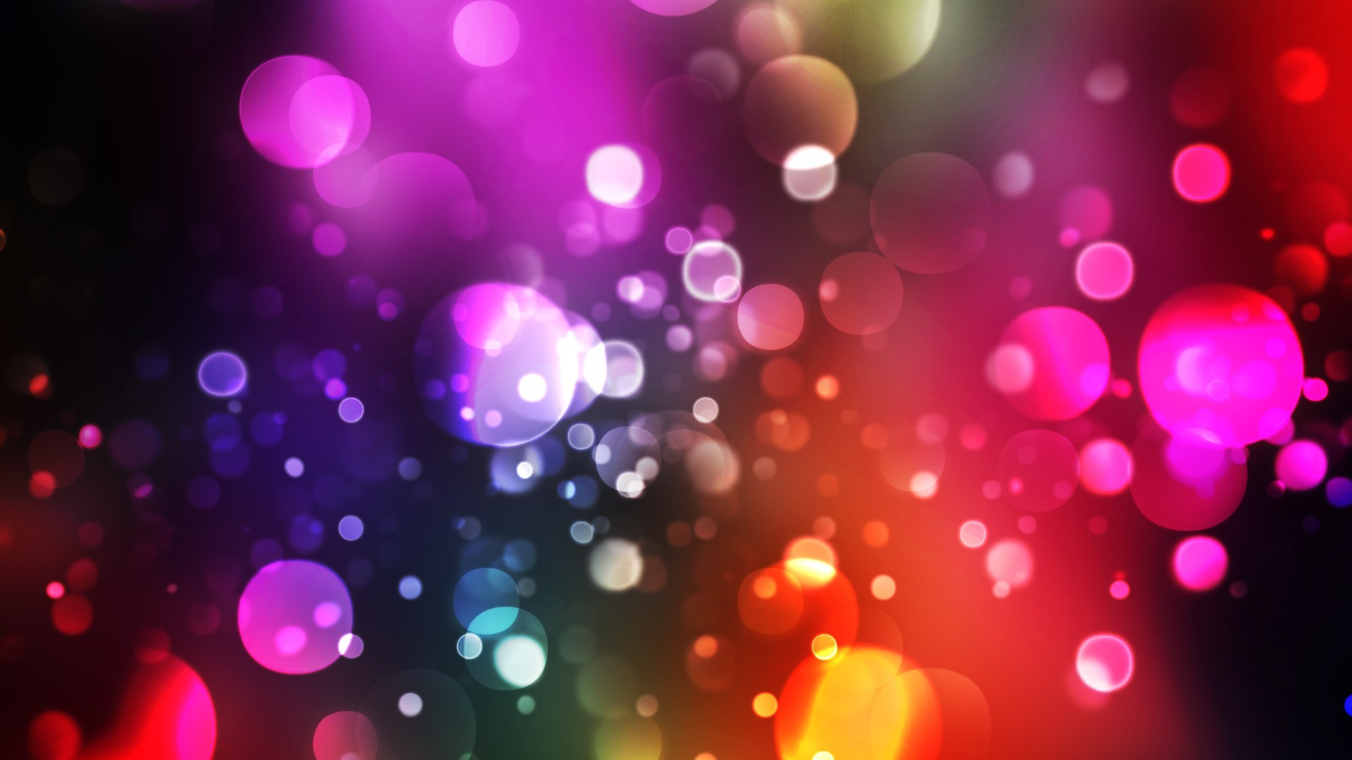 abstract lights bokeh HD Wallpaper