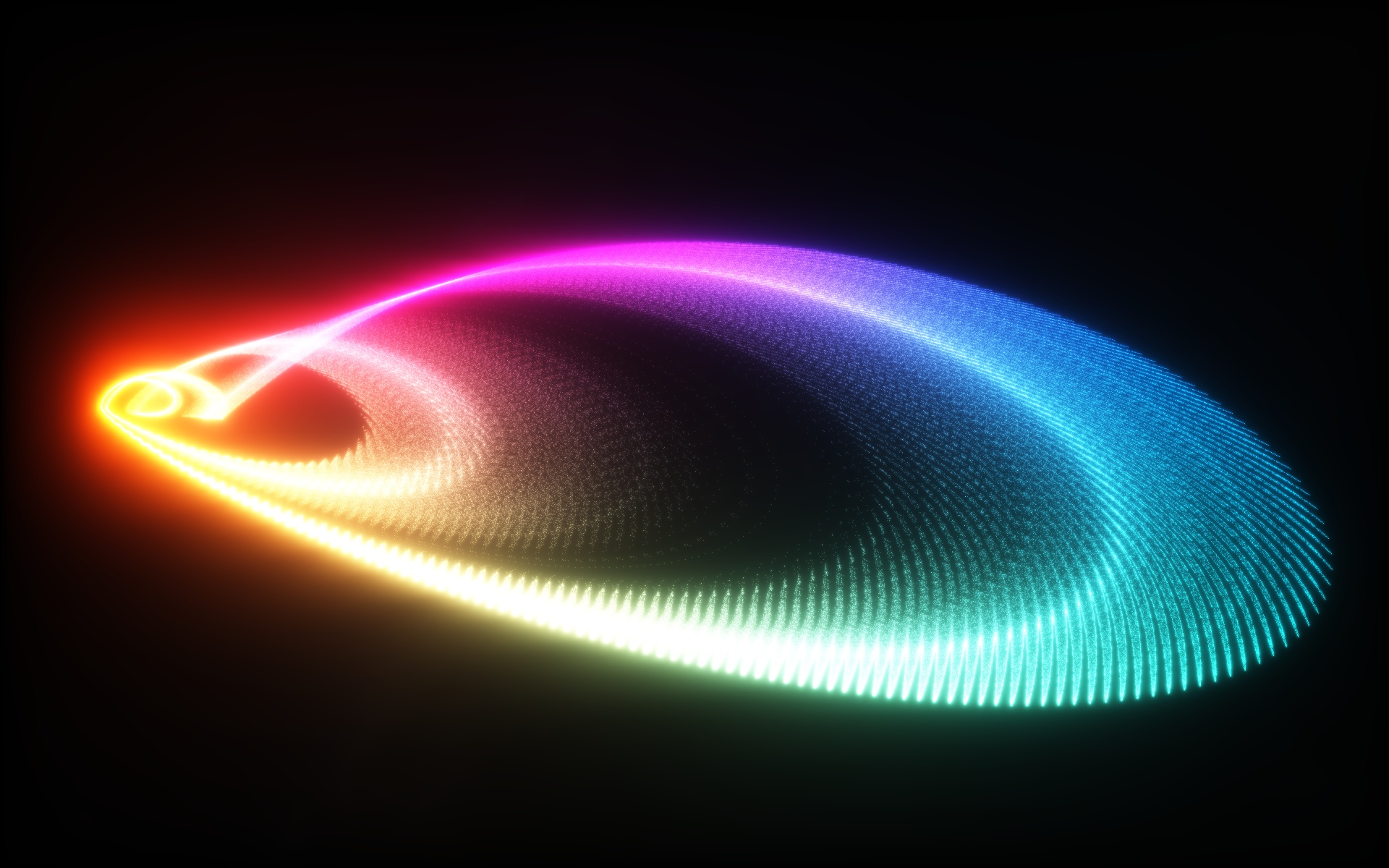 abstract lights multicolor HD Wallpaper