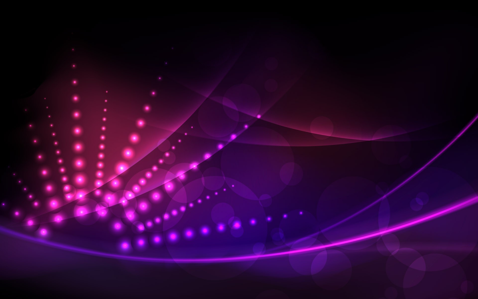 abstract lights pink lines HD Wallpaper