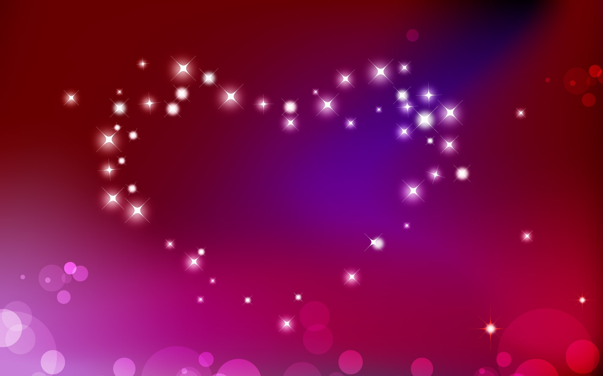 abstract love red Hearts HD Wallpaper