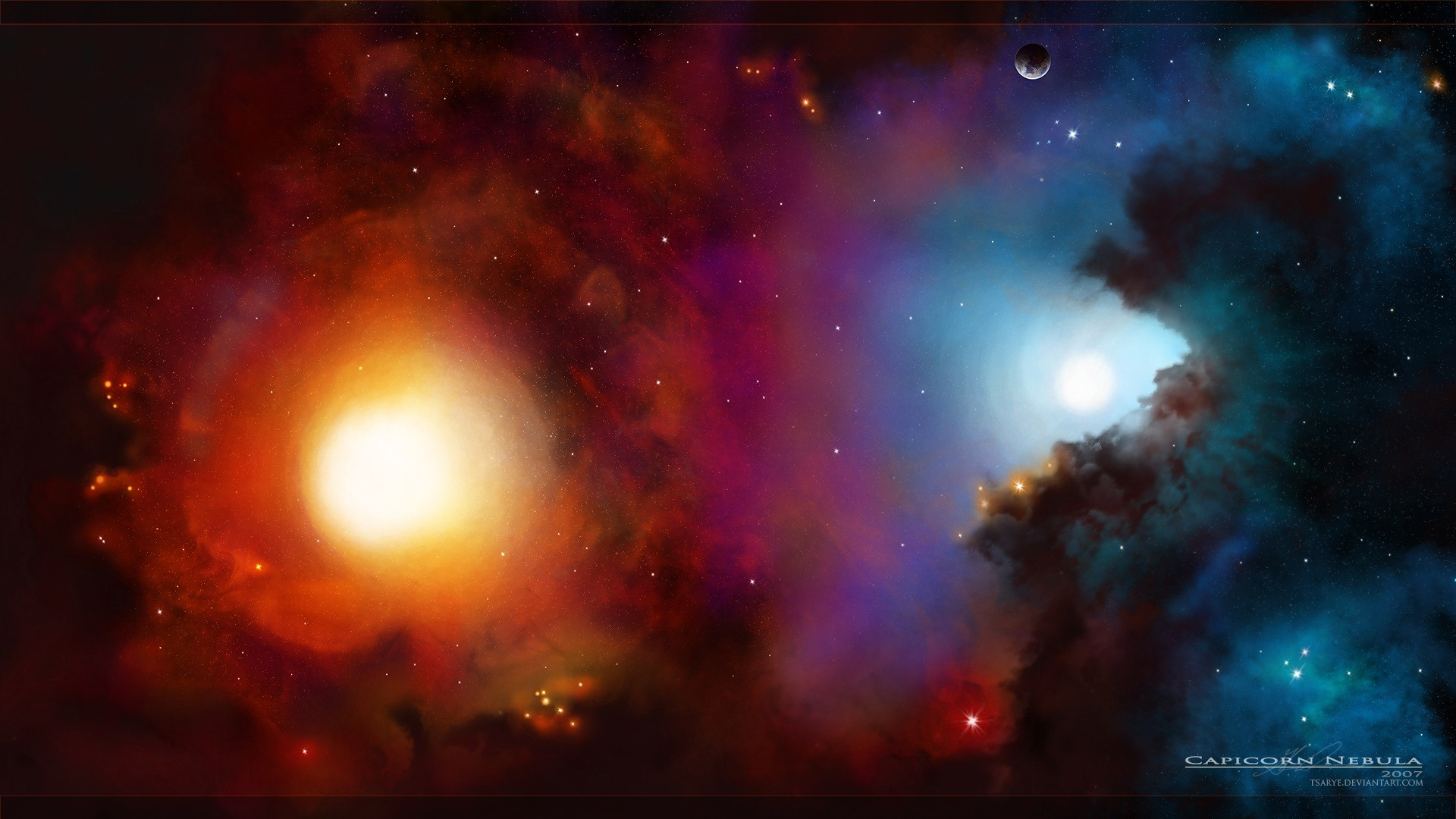 abstract outer space galaxies HD Wallpaper