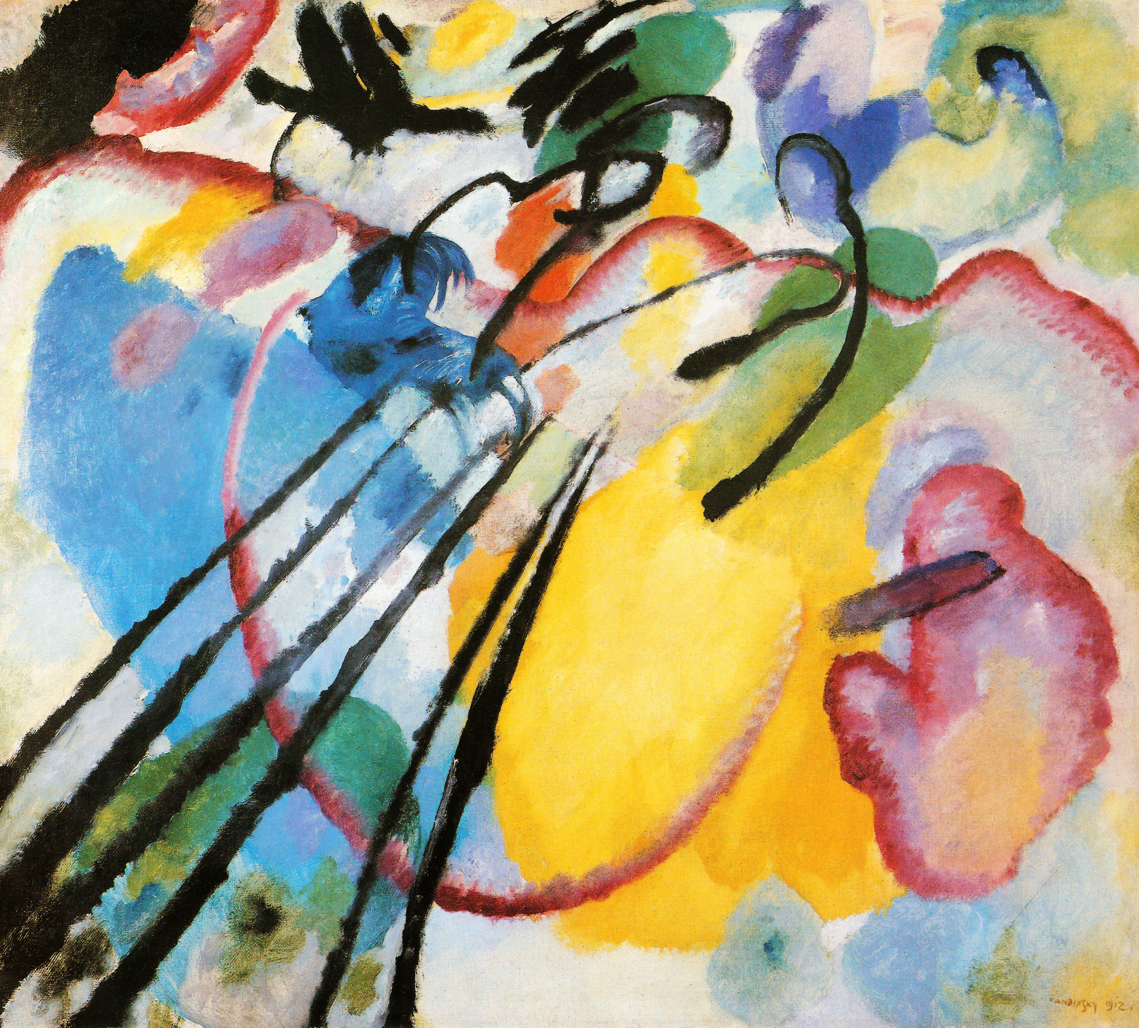 abstract paintings wassily kandinsky