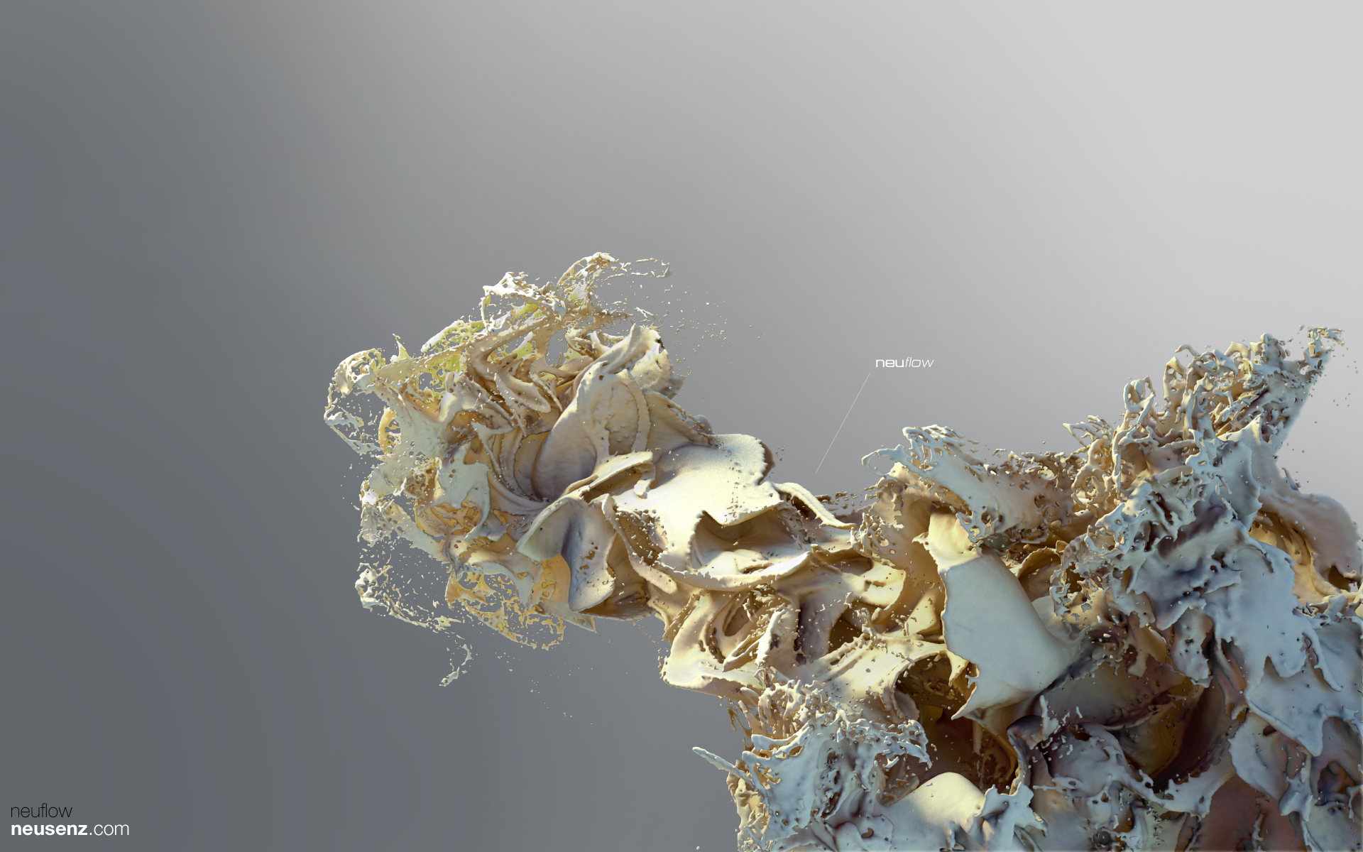 abstract render xenodream neusenz HD Wallpaper
