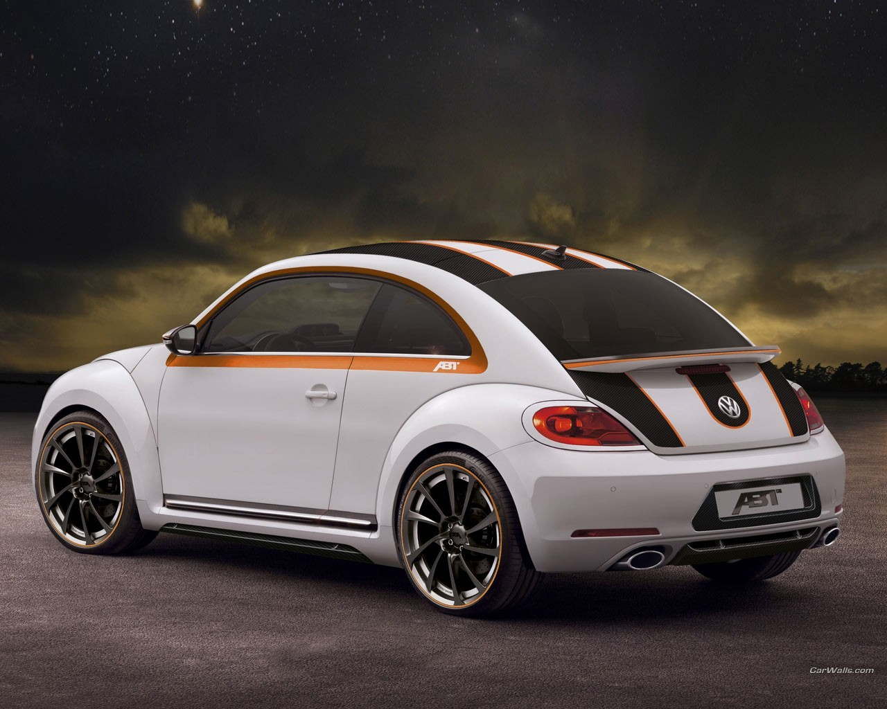 abt white cars volkswagen HD Wallpaper