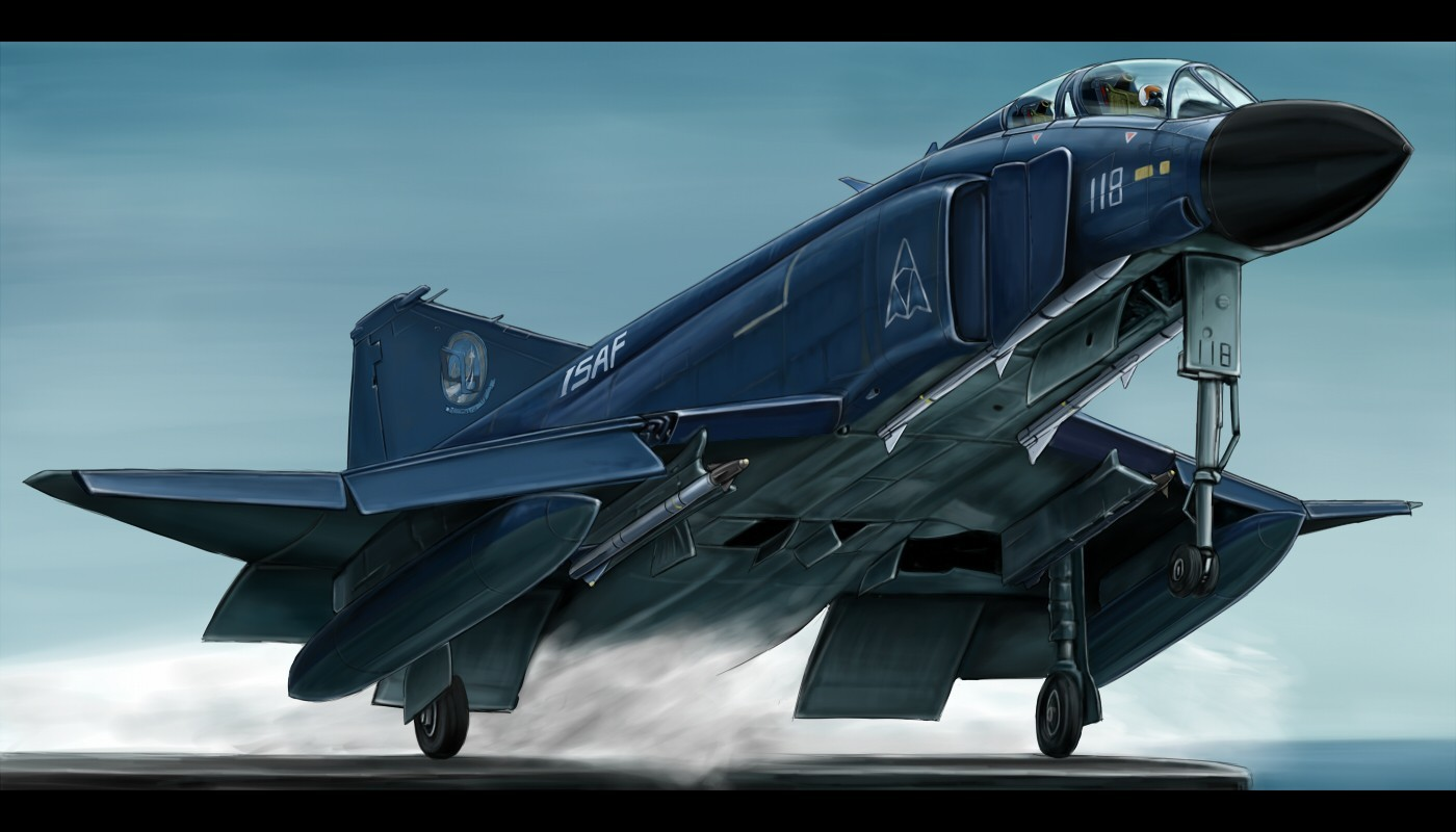 ace combat F-4 Phantom HD Wallpaper