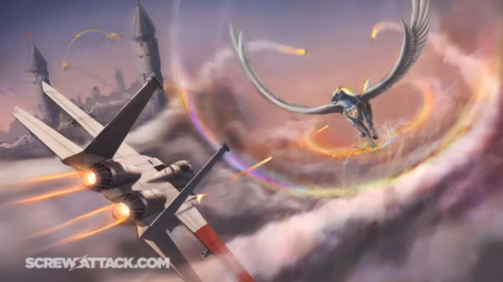 ace combat my little HD Wallpaper