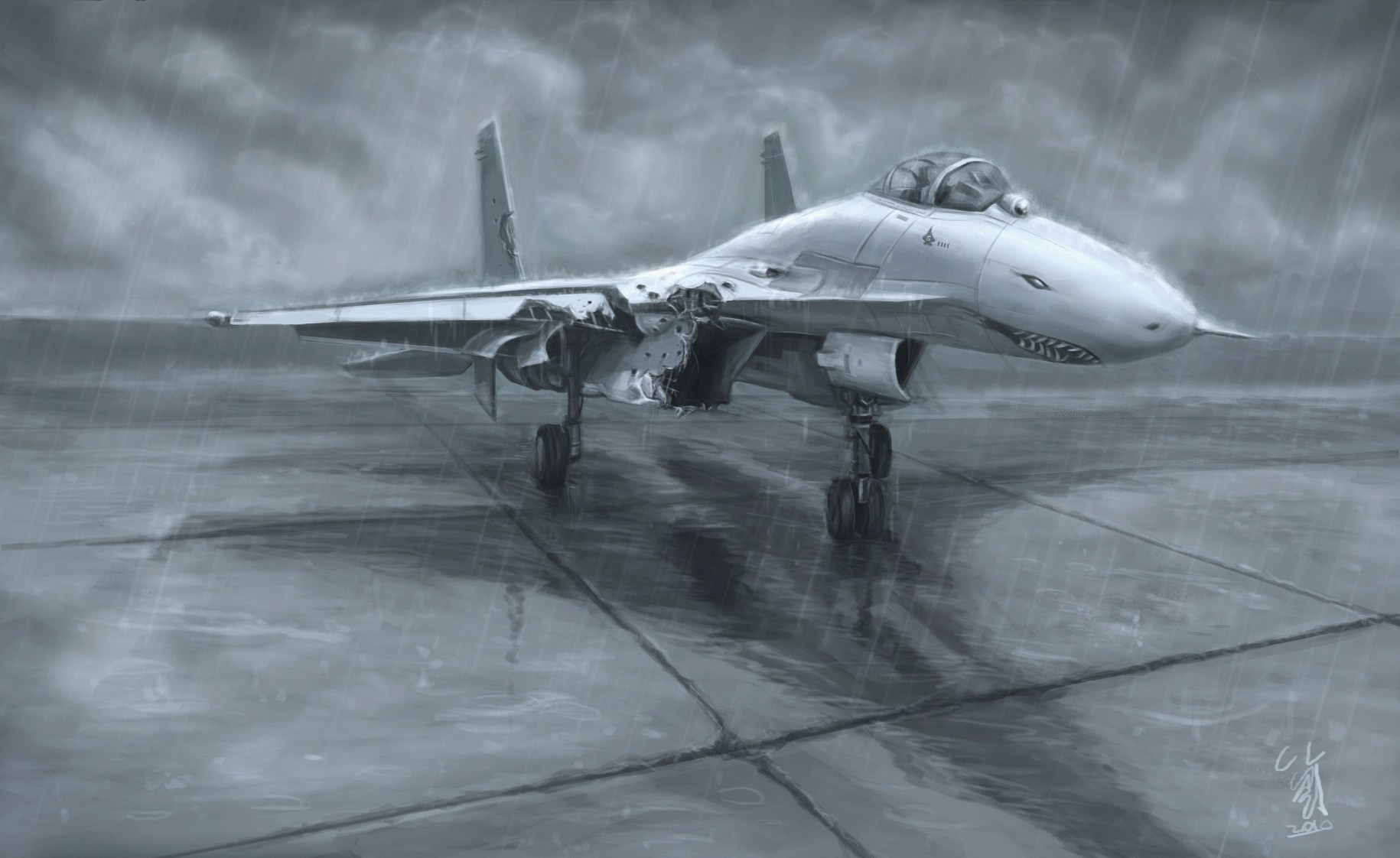 ace combat su-27 flanker HD Wallpaper