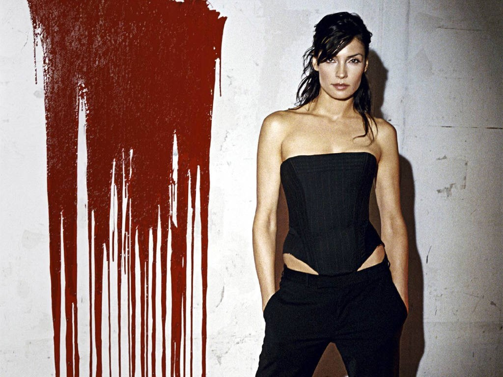 Actress Famke Janssen HD Wallpaper