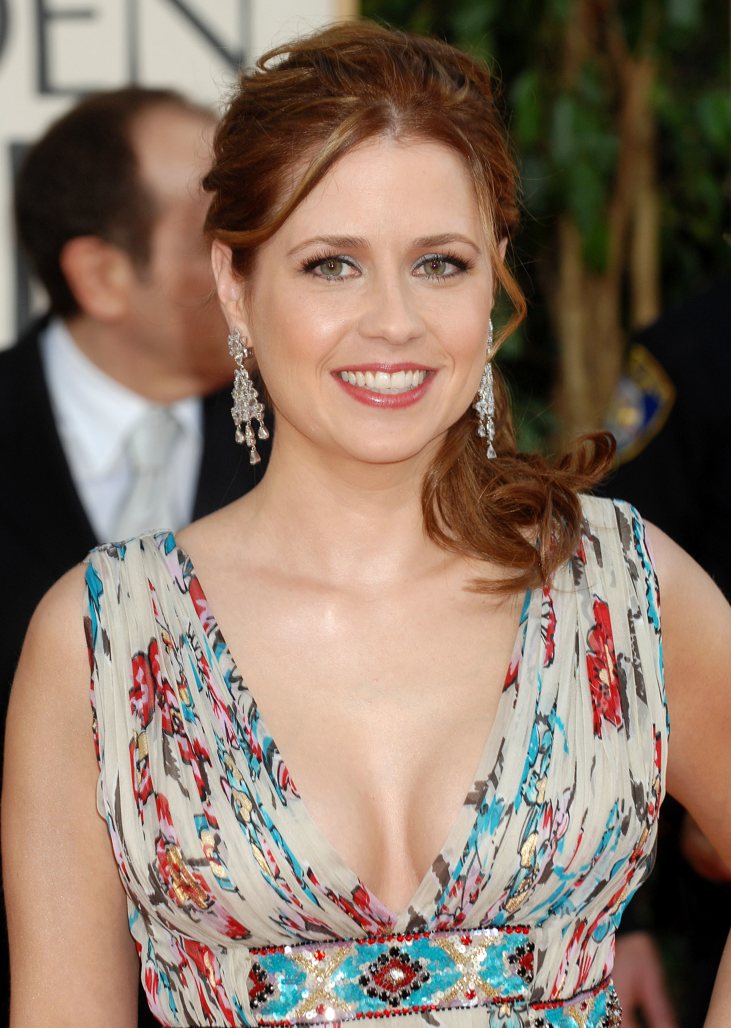Actress jenna fischer earrings HD Wallpaper