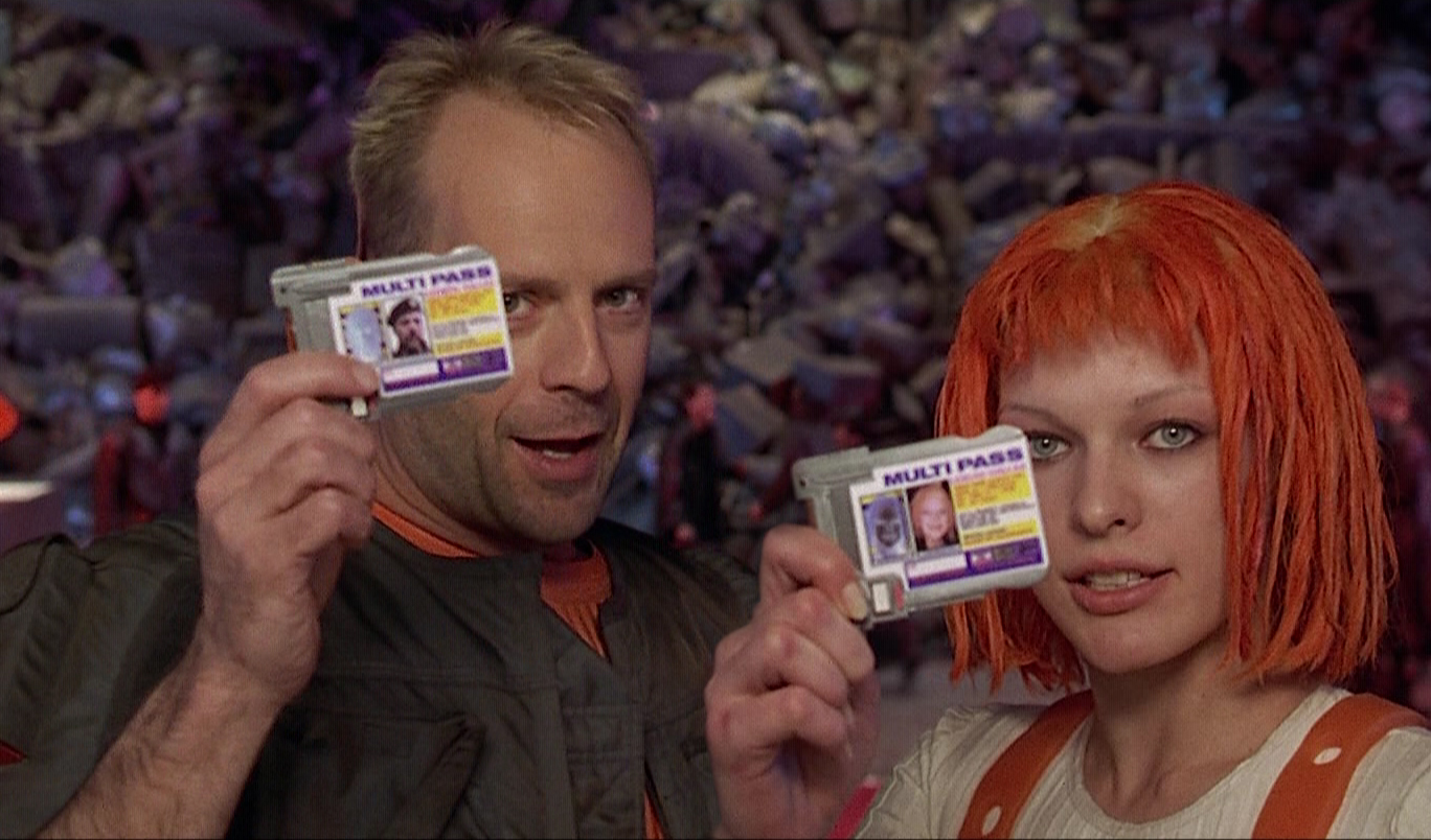 Actress Leeloo multipass The HD Wallpaper