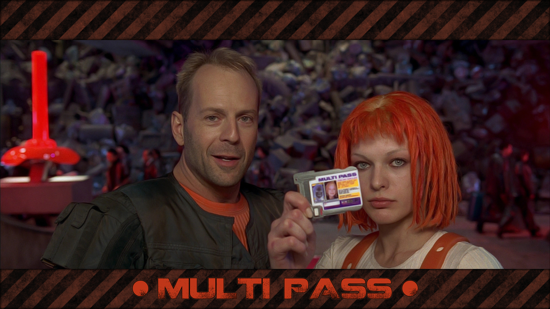 Actress The Fifth Element HD Wallpaper