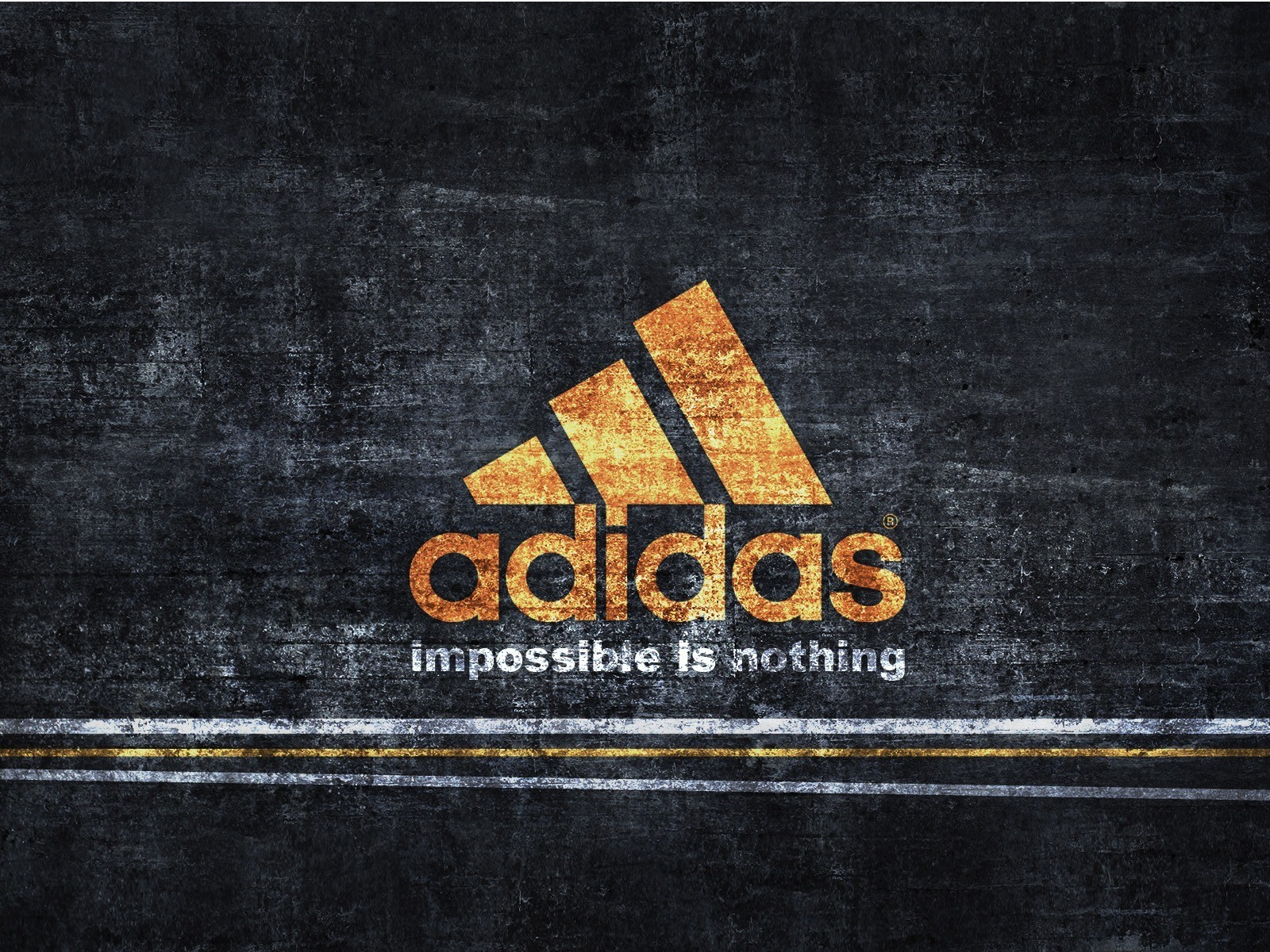 Adidas impossible is nothing HD Wallpaper