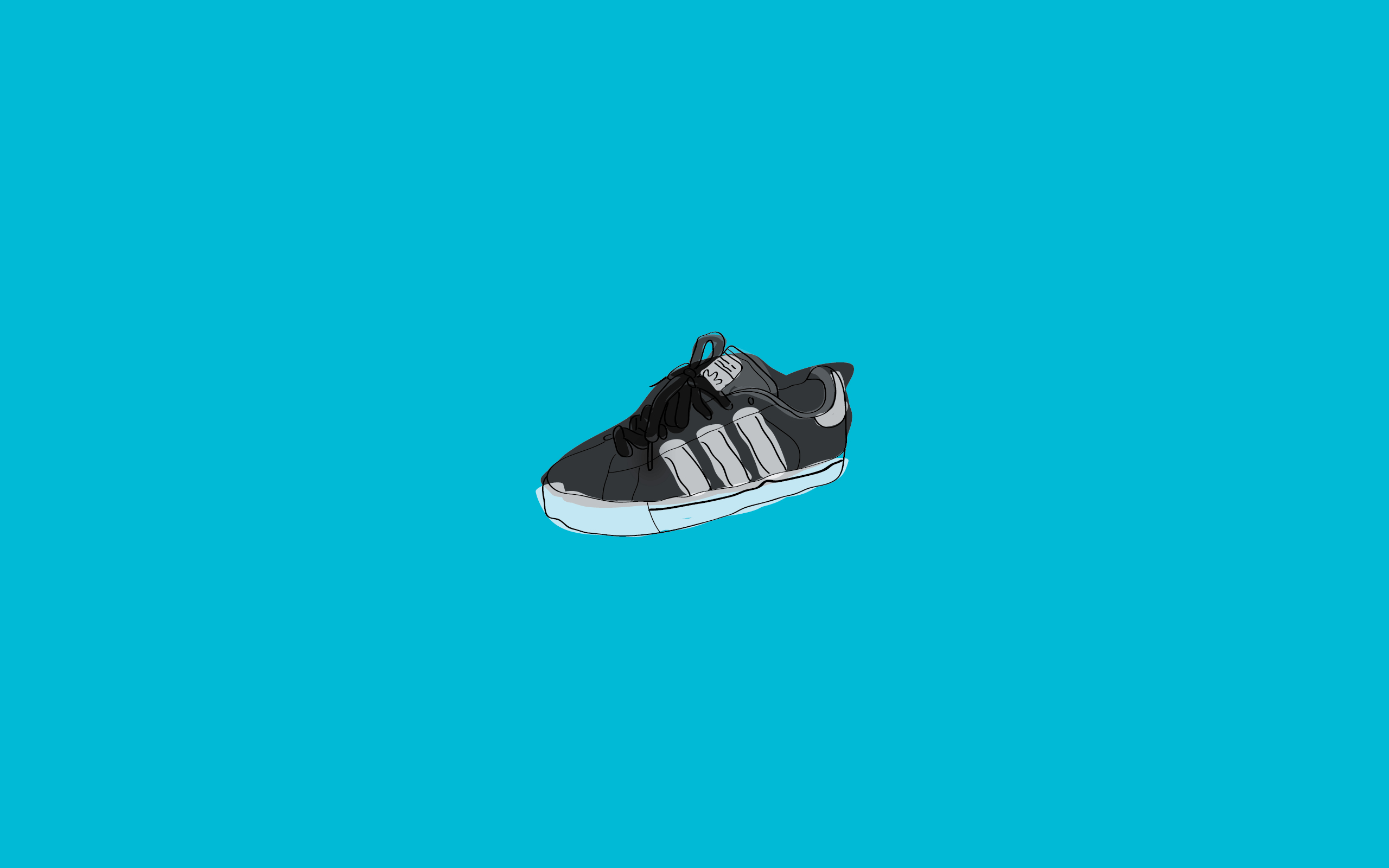Adidas minimalistic simple sneakers HD Wallpaper