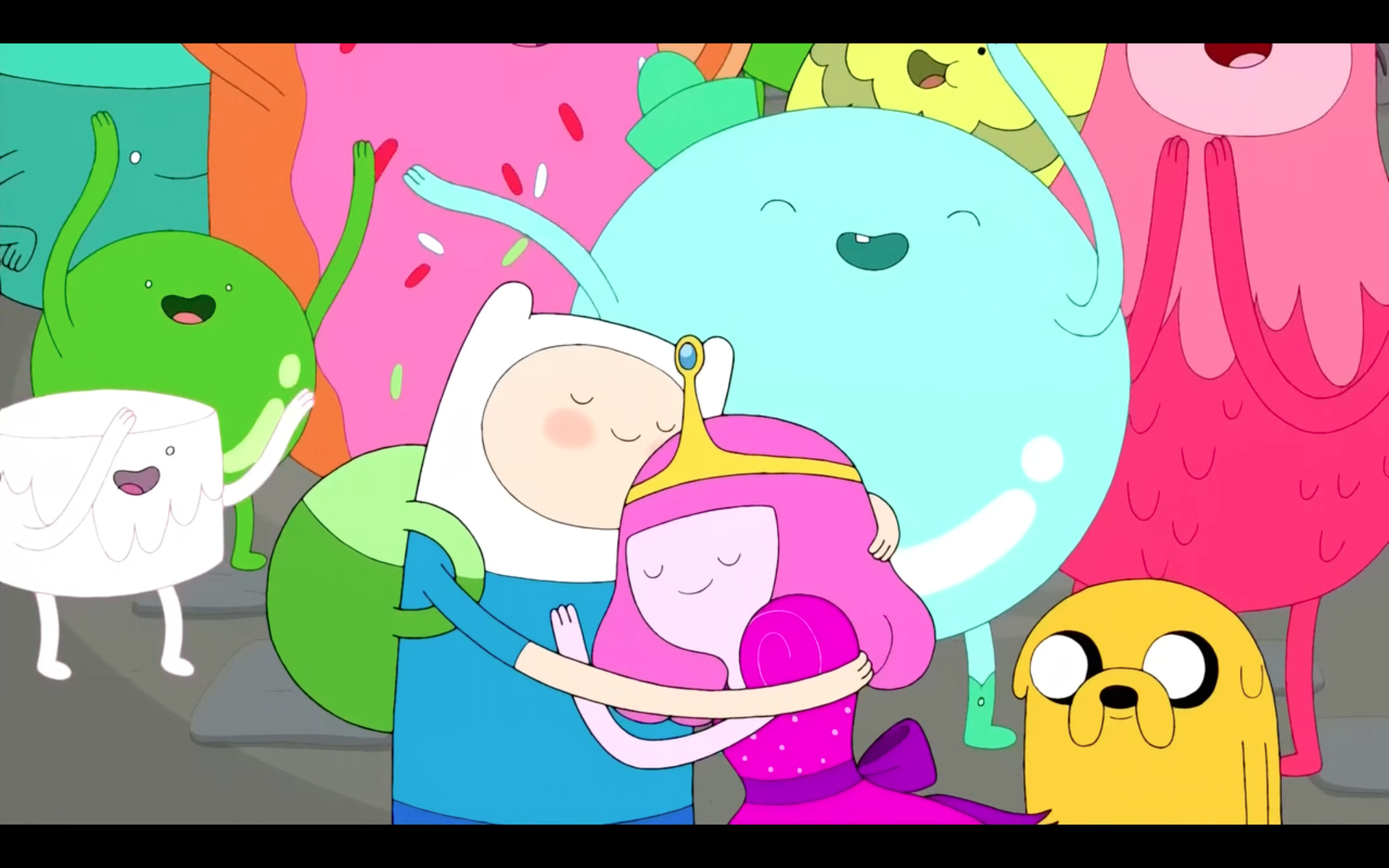 Adventure time City HD Wallpaper