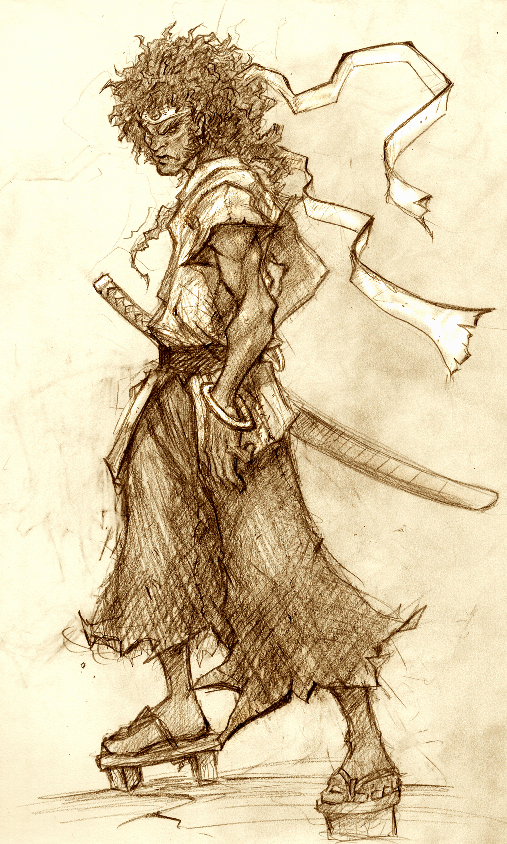Afro Samurai Wallpaper on Afro Samurai Hd Wallpaper   General   324316