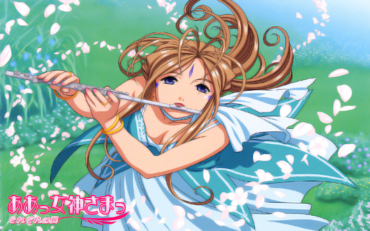Ah My goddess flute HD Wallpaper