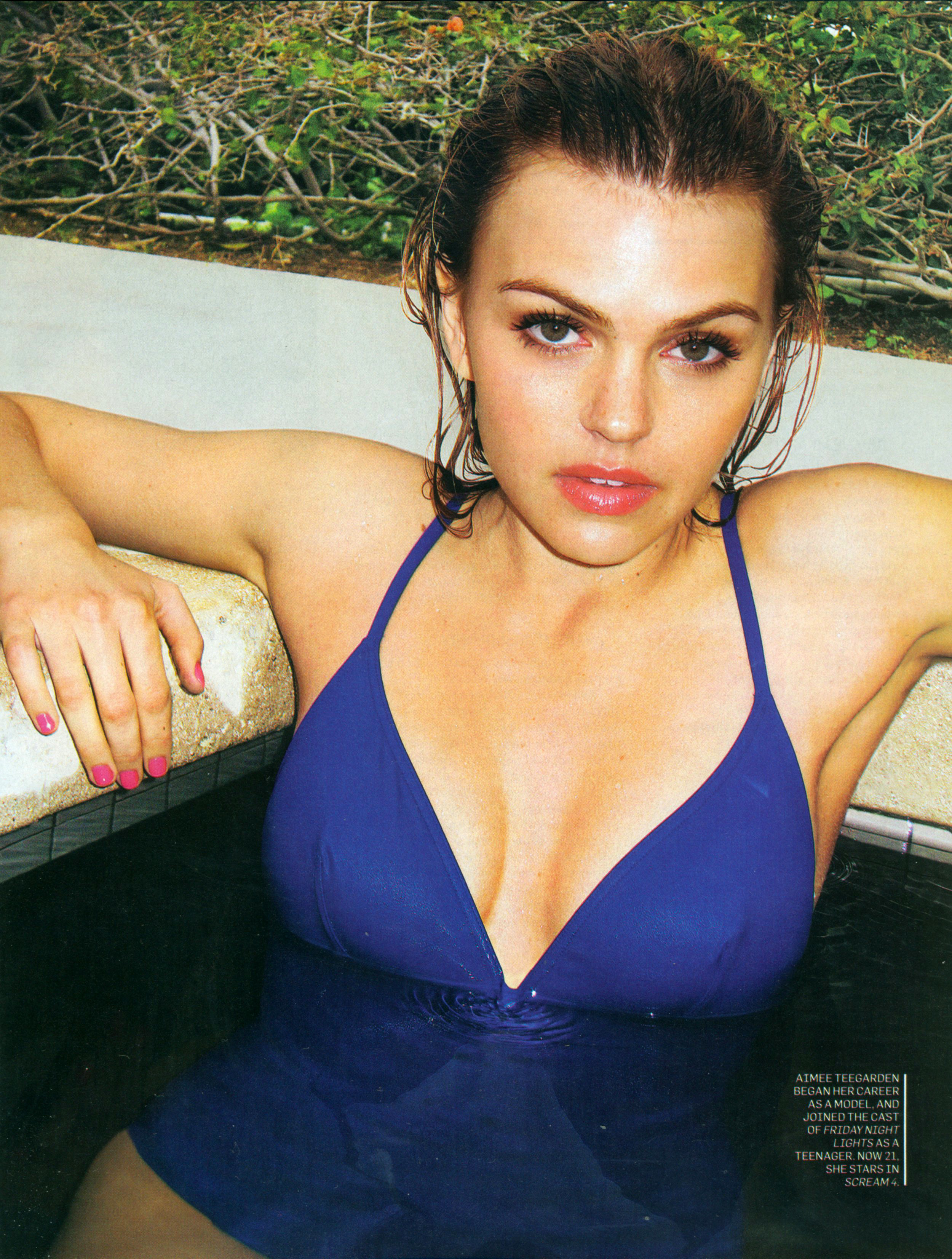 aimee teegarden magazine scans HD Wallpaper