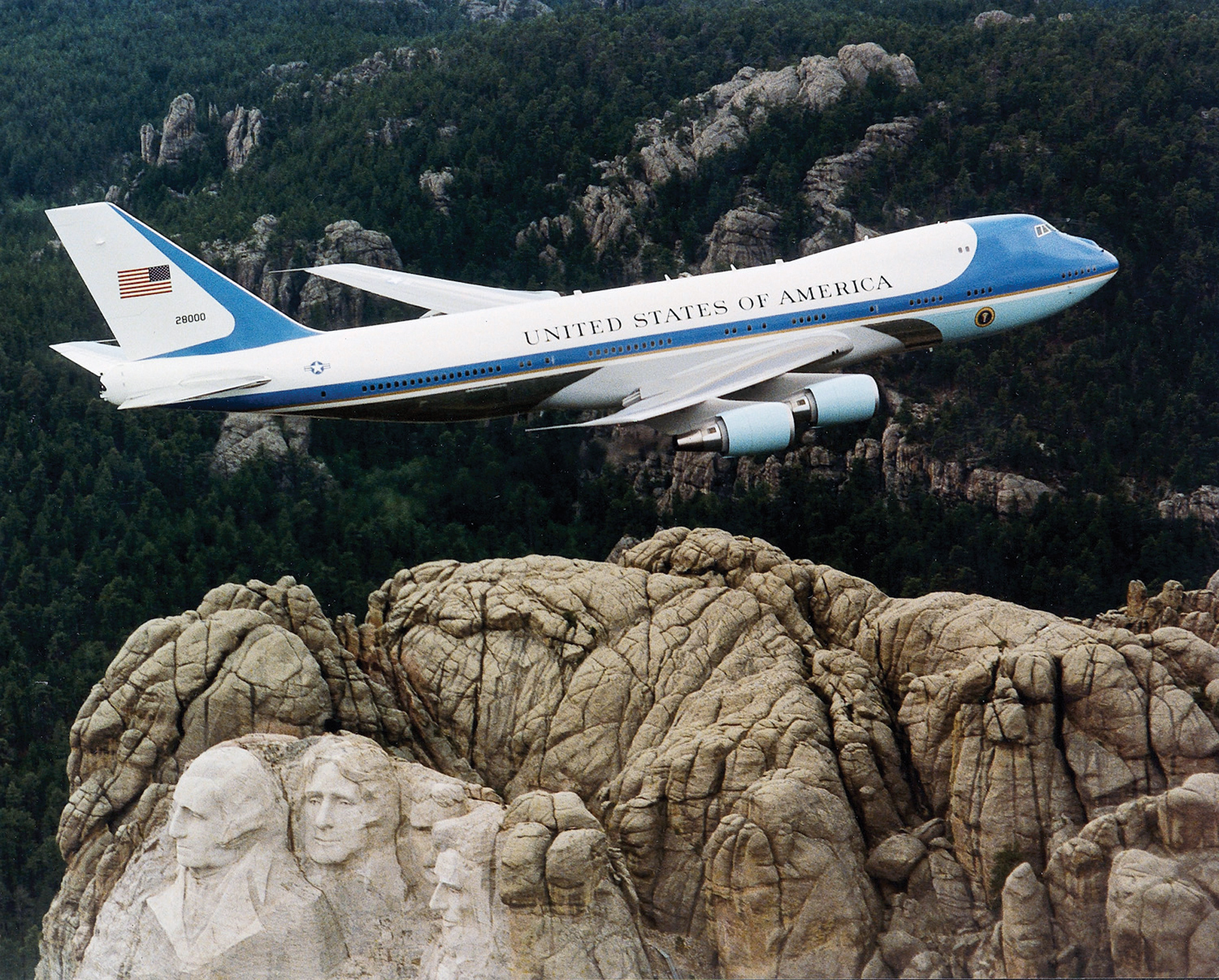 air force one over HD Wallpaper