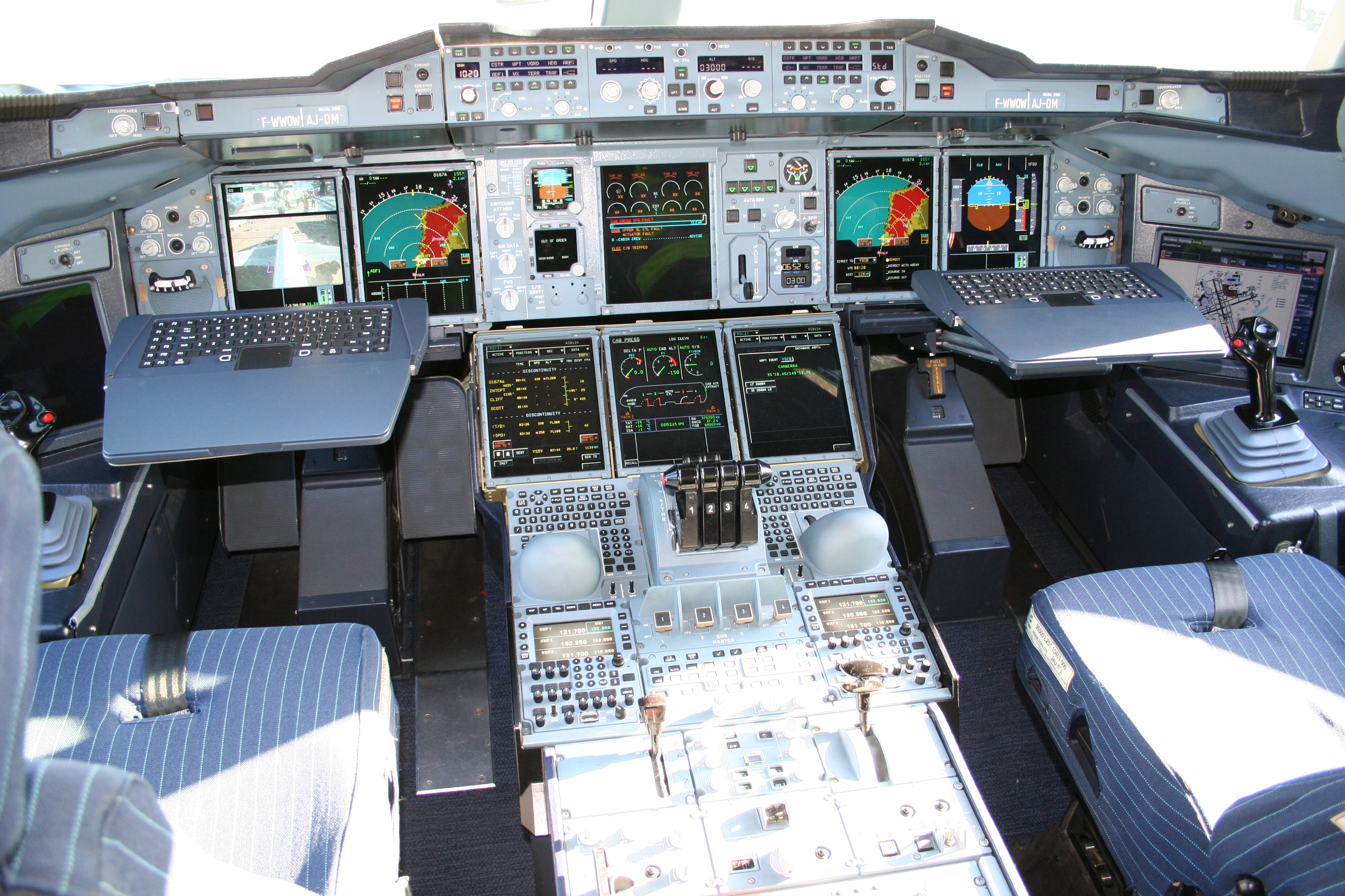 Airbus cockpit gigs No HD Wallpaper