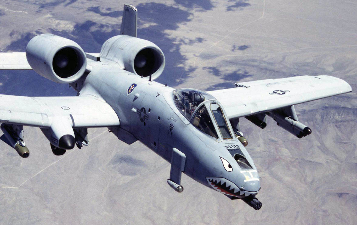 Aircraft A-10 Thunderbolt II HD Wallpaper