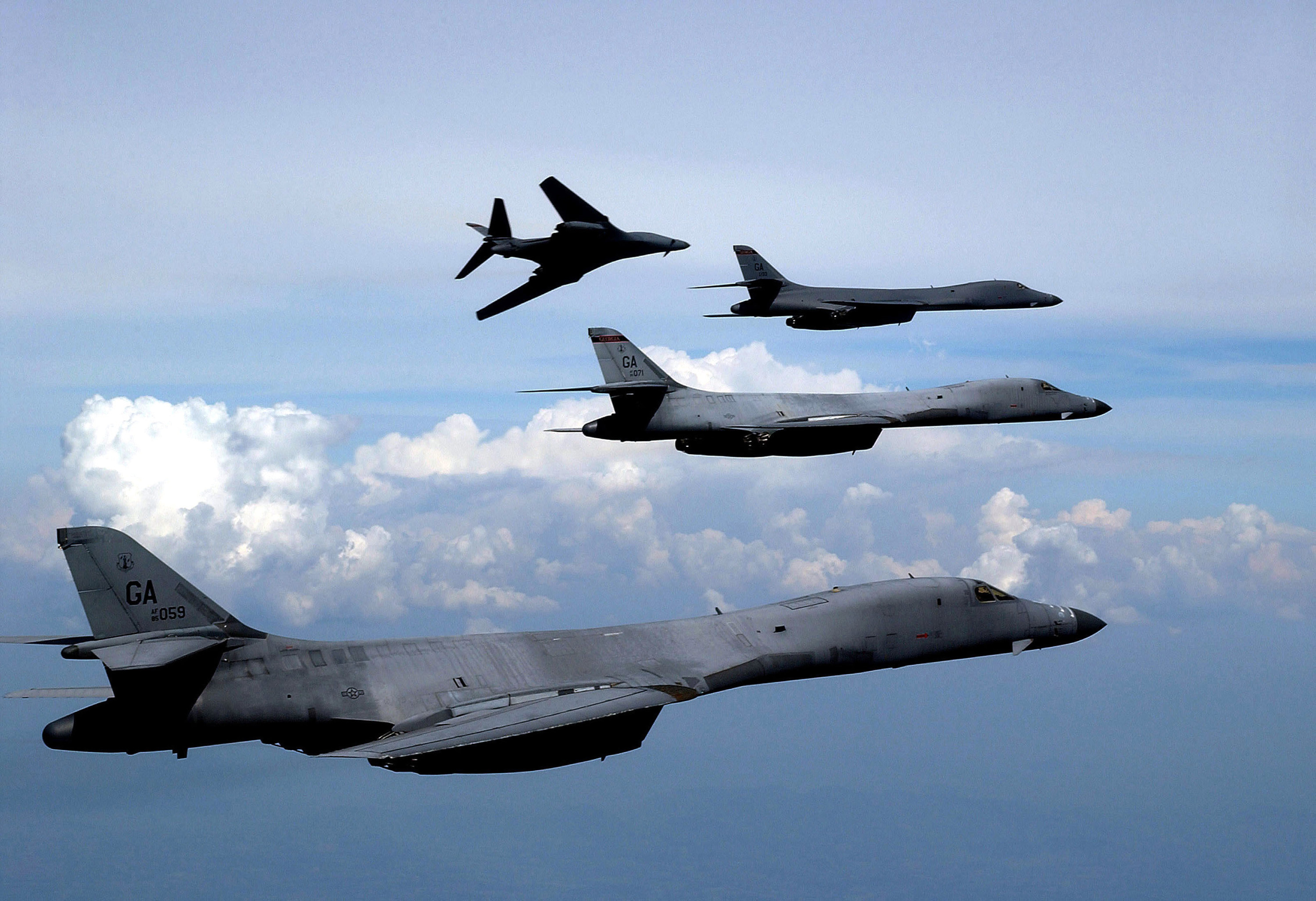 Aircraft bomber B1 Lancer HD Wallpaper