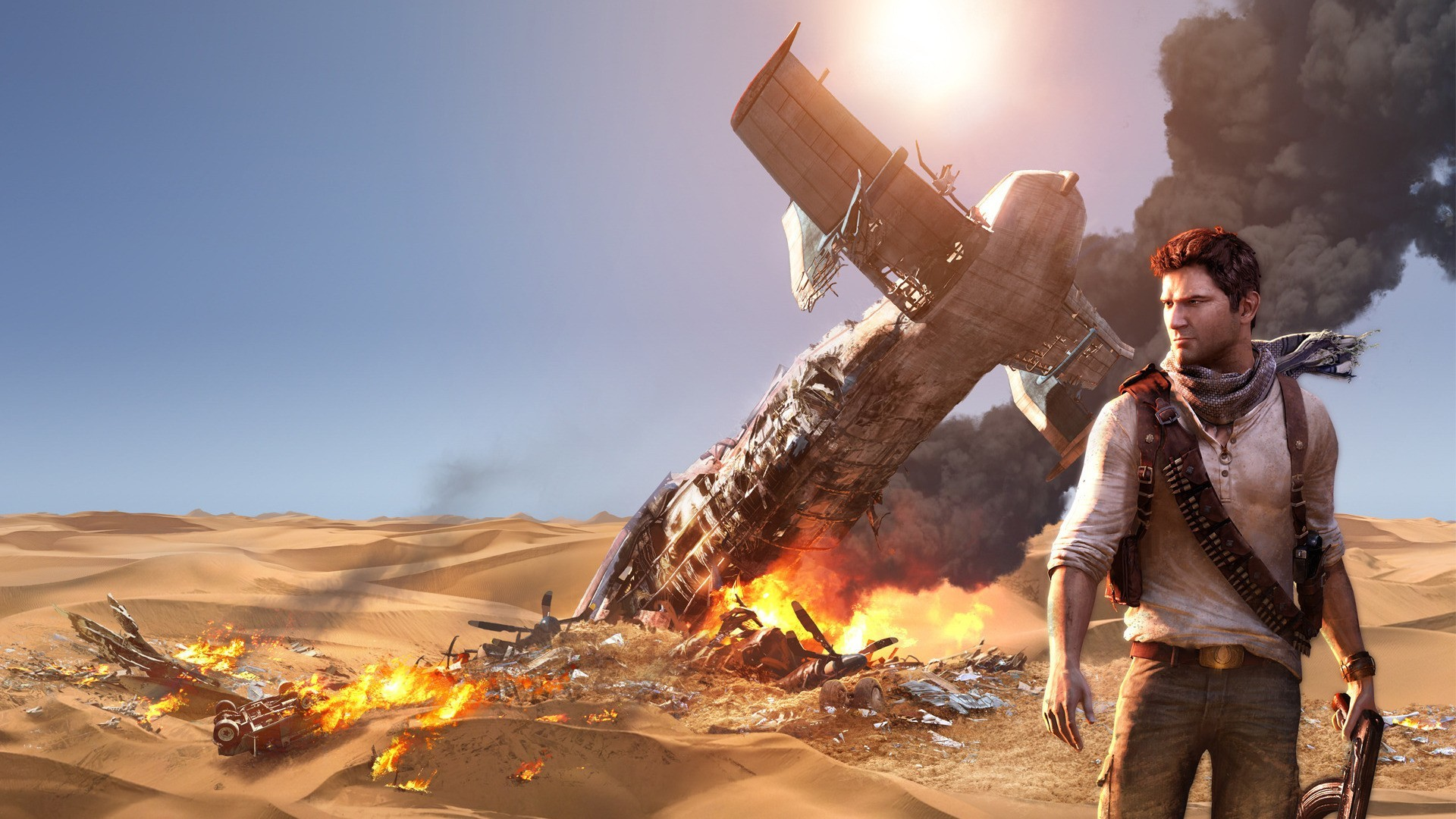 Aircraft deserts uncharted nathan HD Wallpaper
