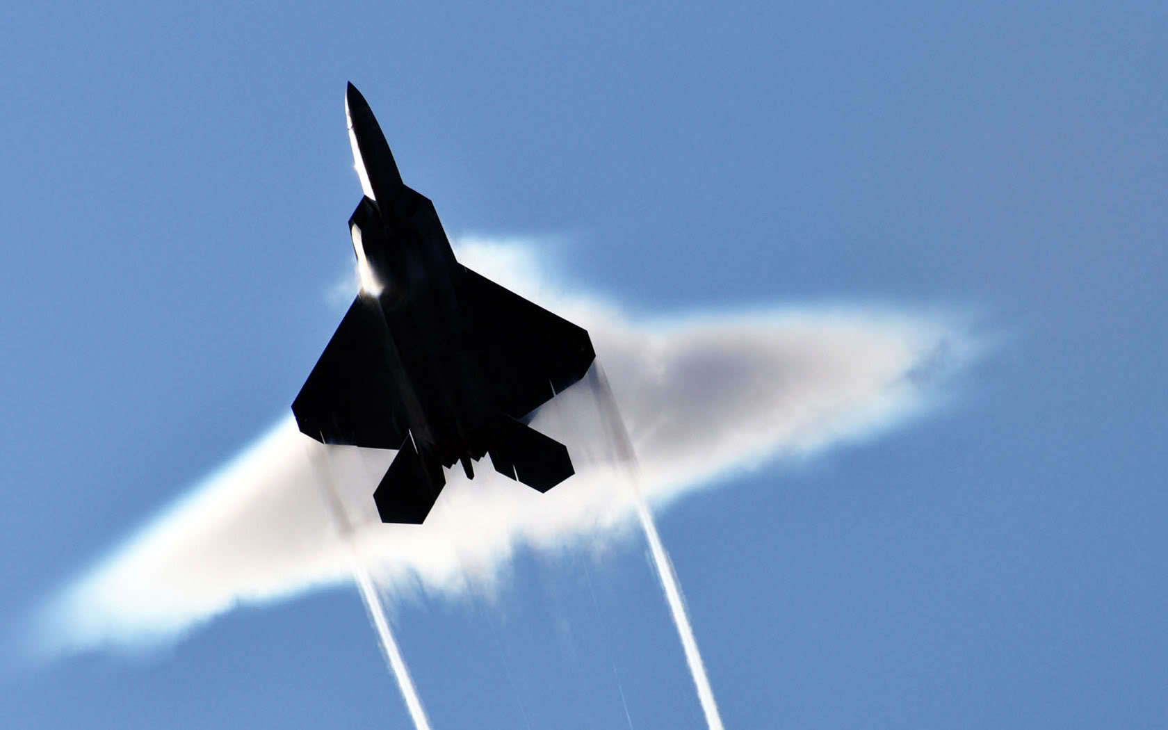 Aircraft F-22 raptor sound HD Wallpaper