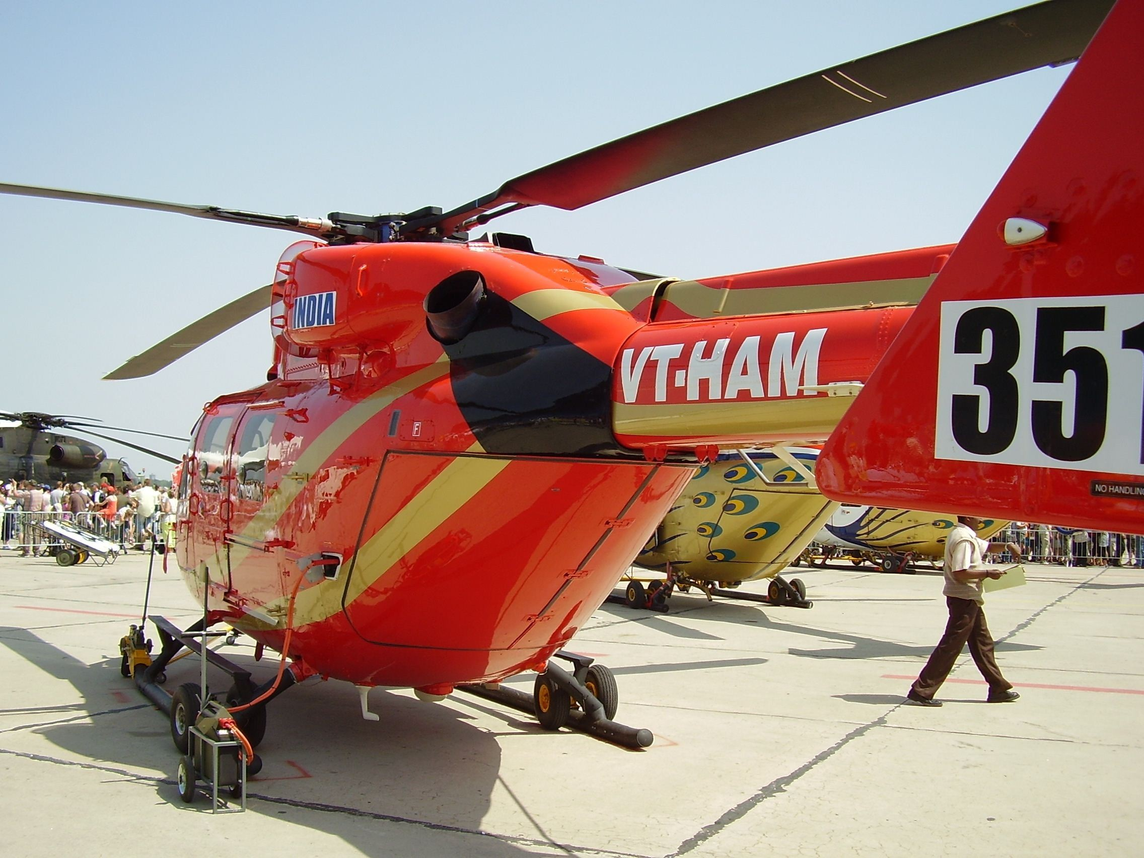 Aircraft Helicopters hal India HD Wallpaper