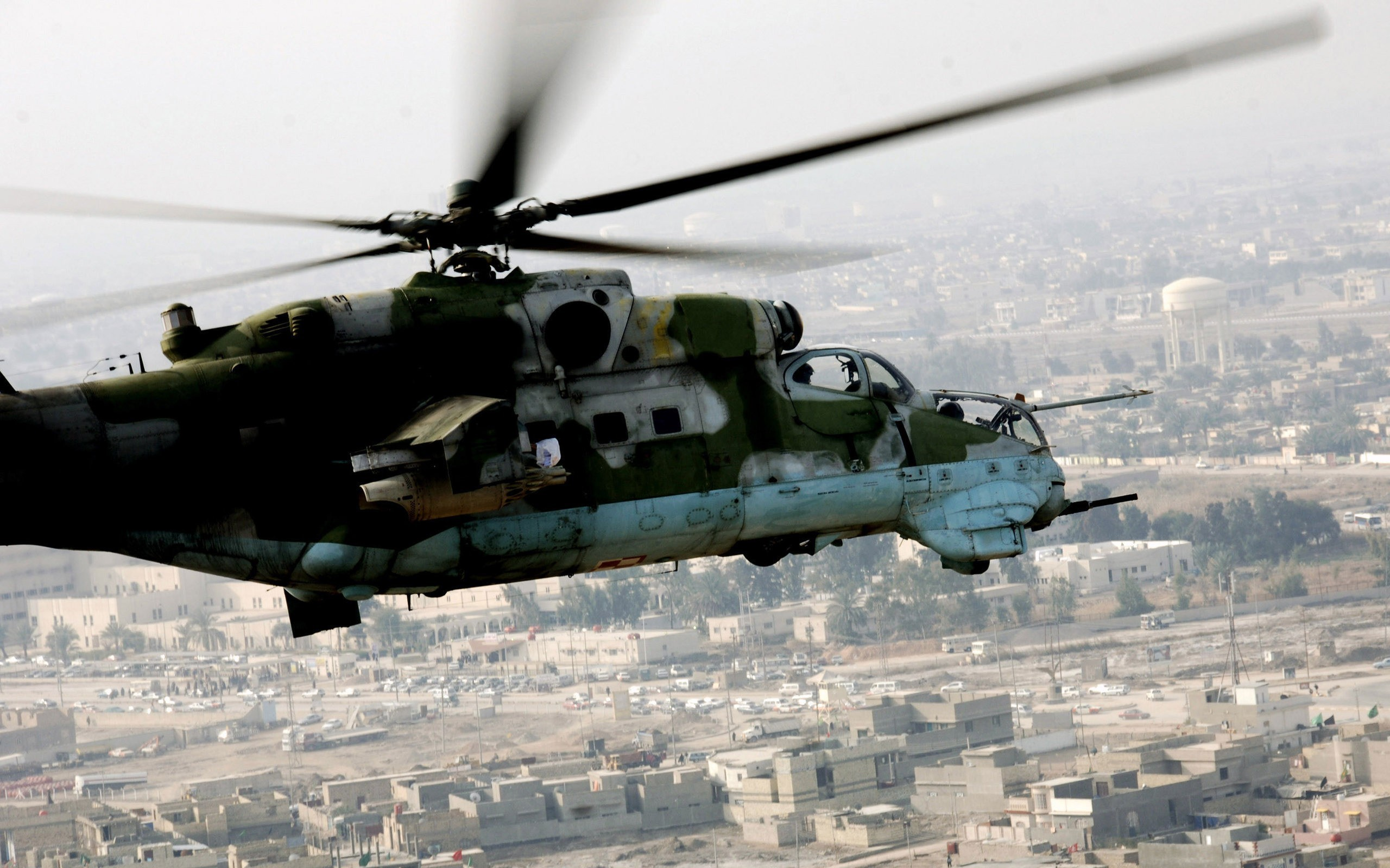 Aircraft Helicopters hind vehicles HD Wallpaper