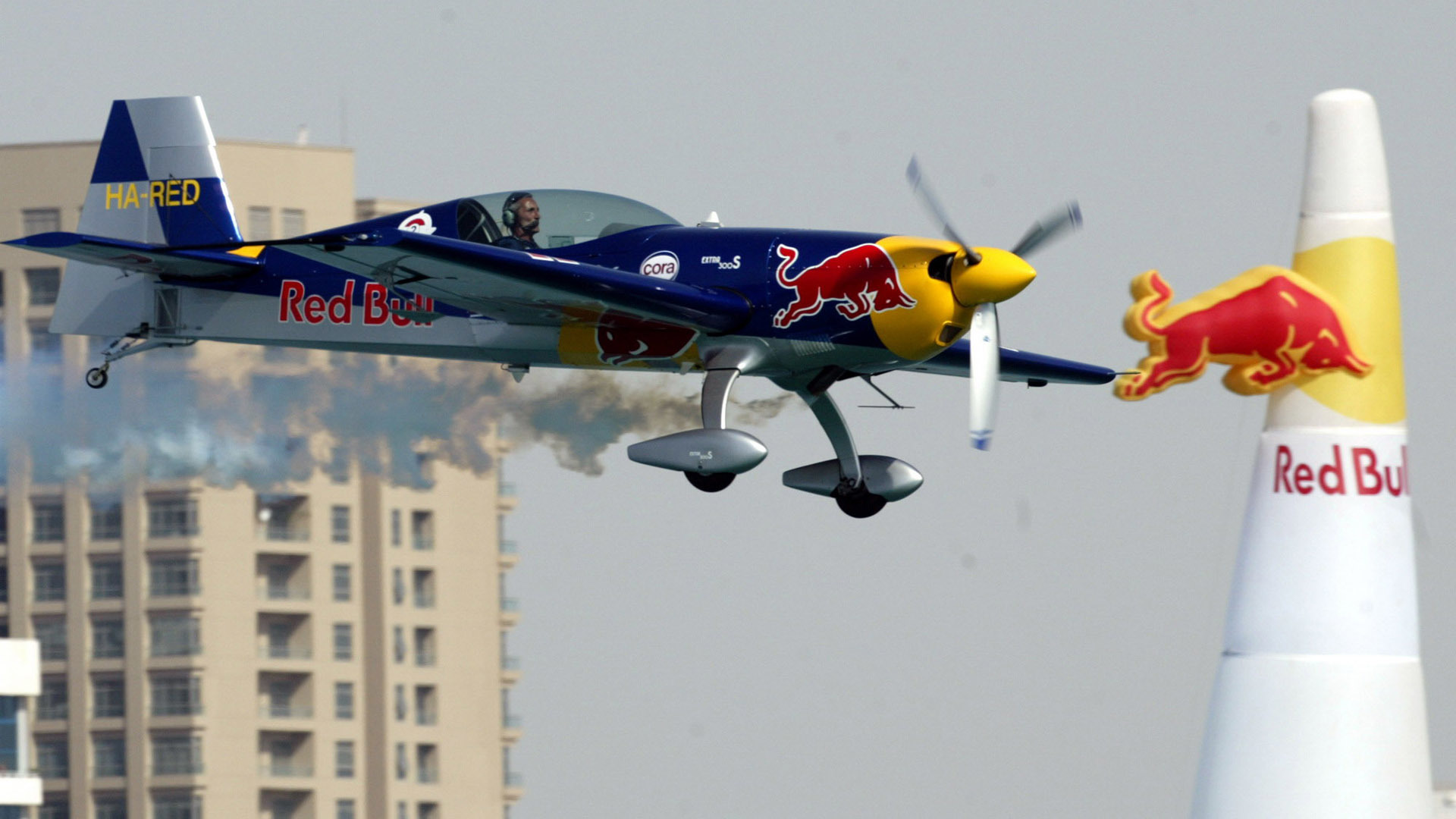Aircraft hungary Red Bull HD Wallpaper