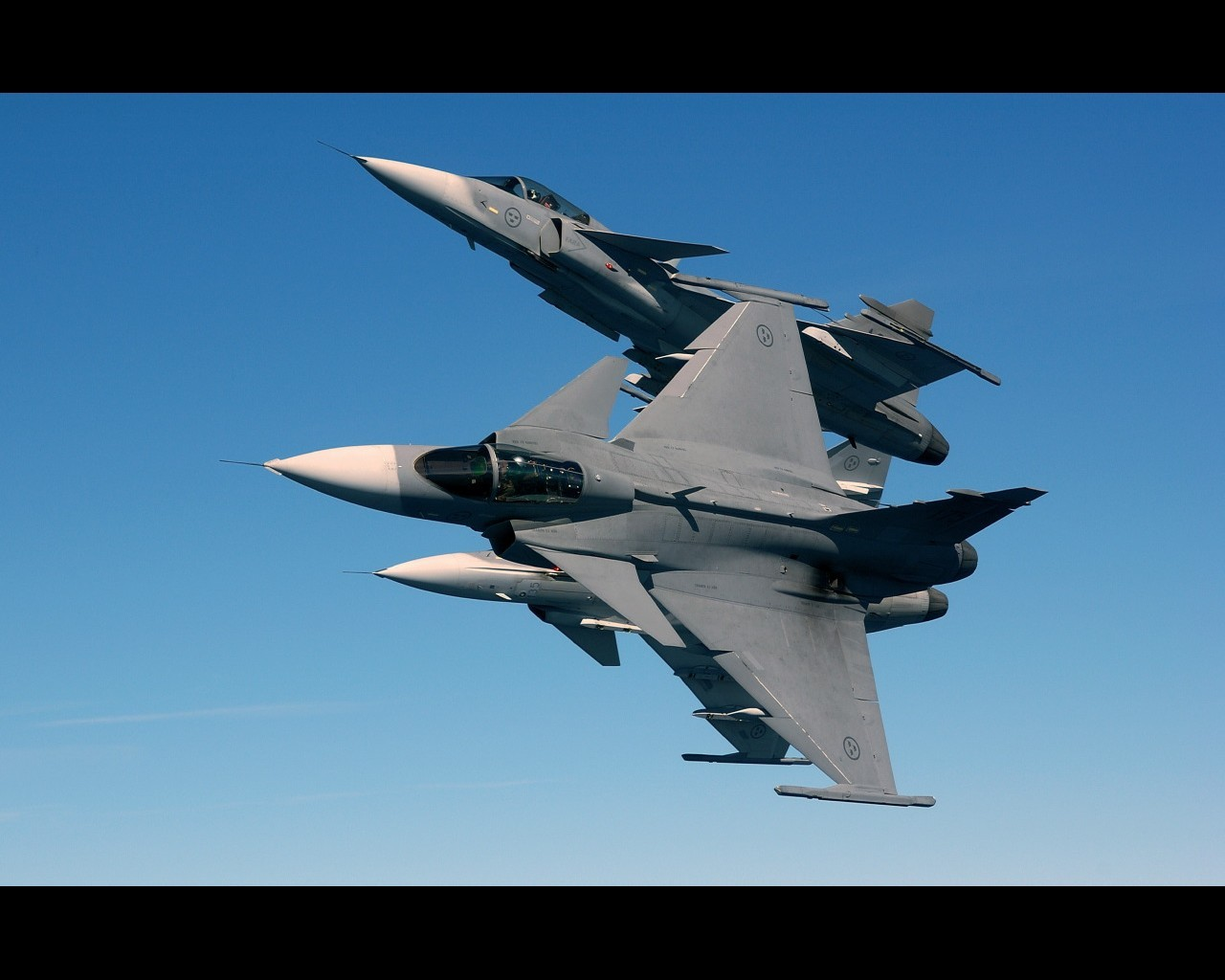 Aircraft Jas 39 Gripen HD Wallpaper