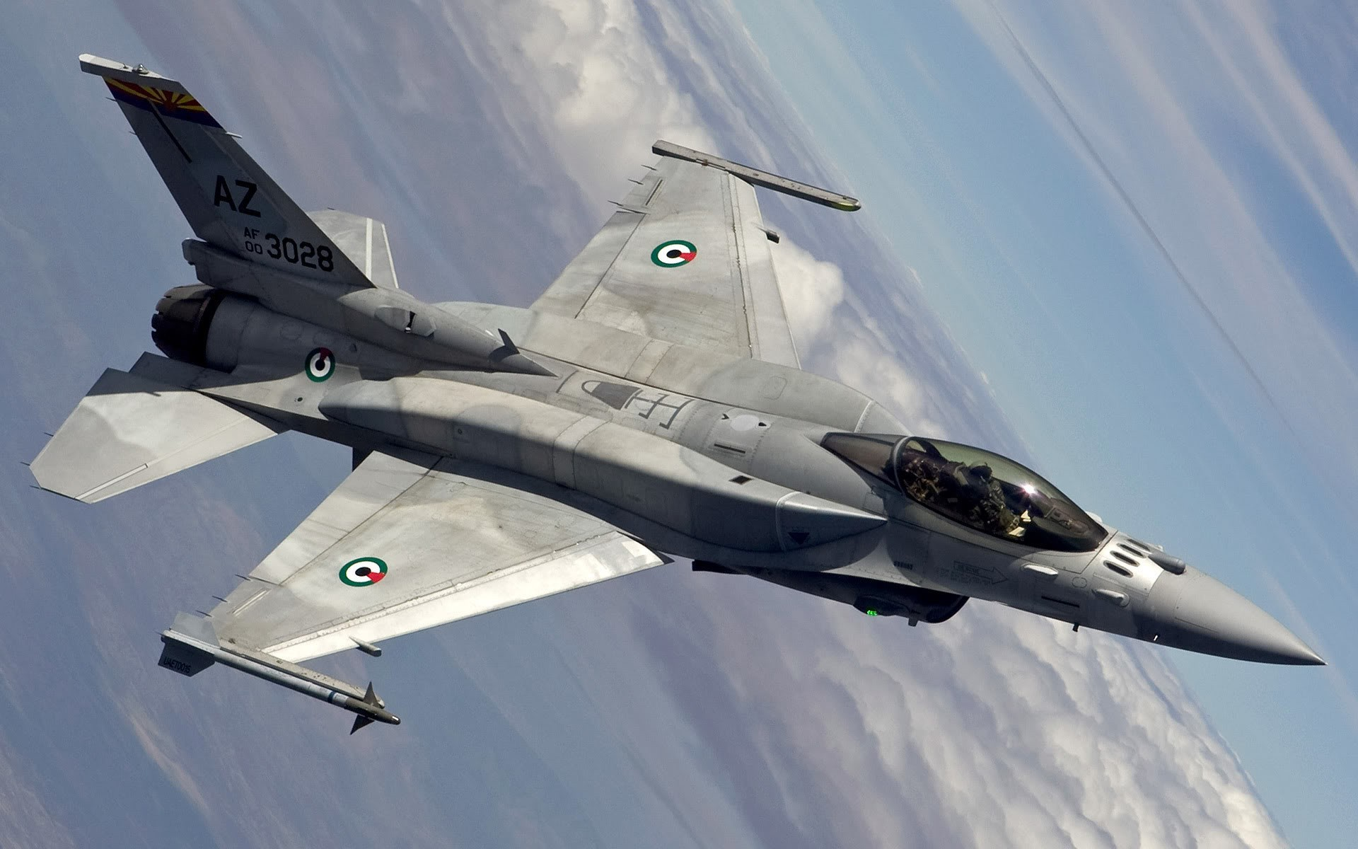 Aircraft Lockheed f16 Block HD Wallpaper