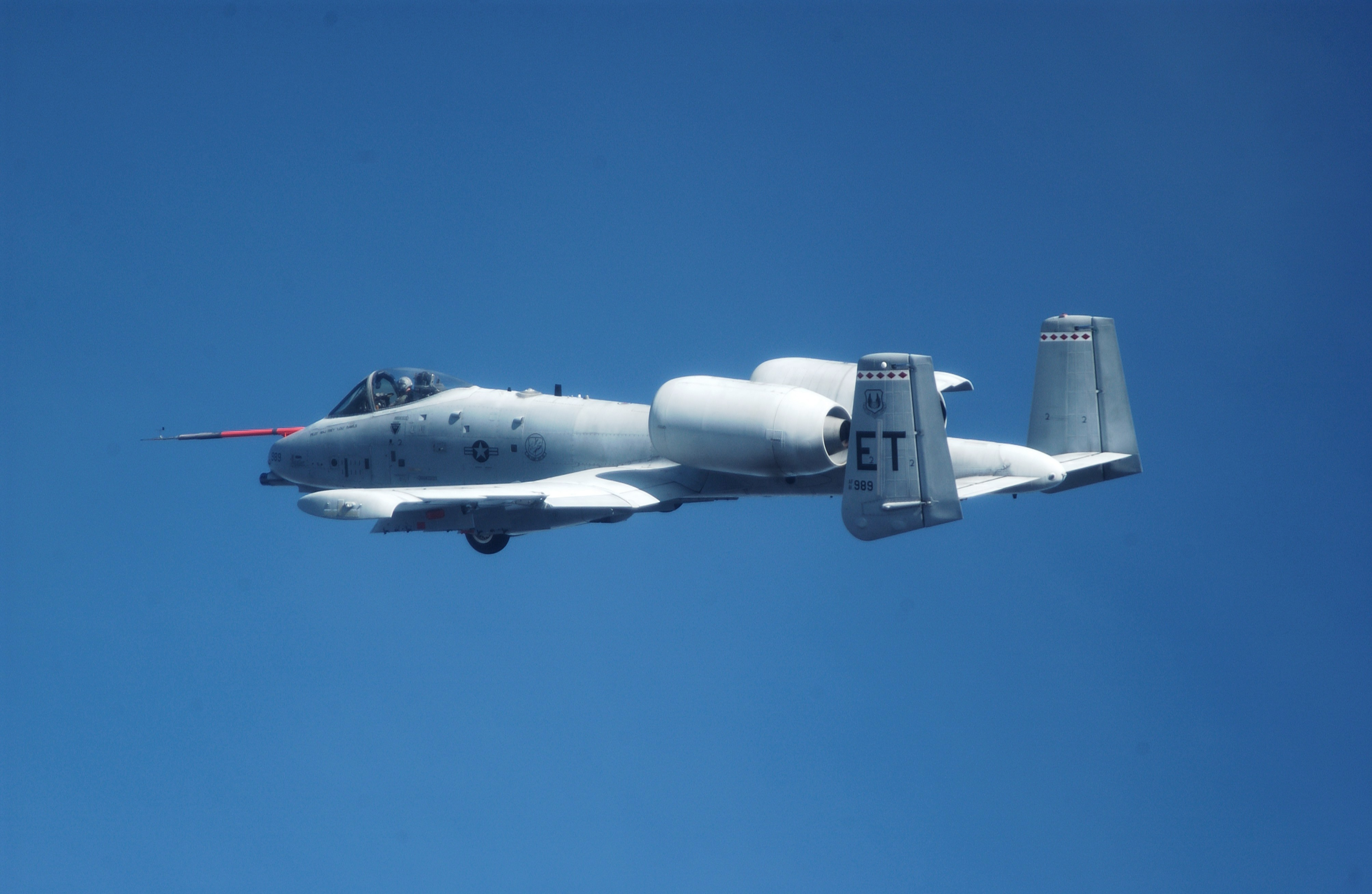 Aircraft military A-10 Thunderbolt HD Wallpaper